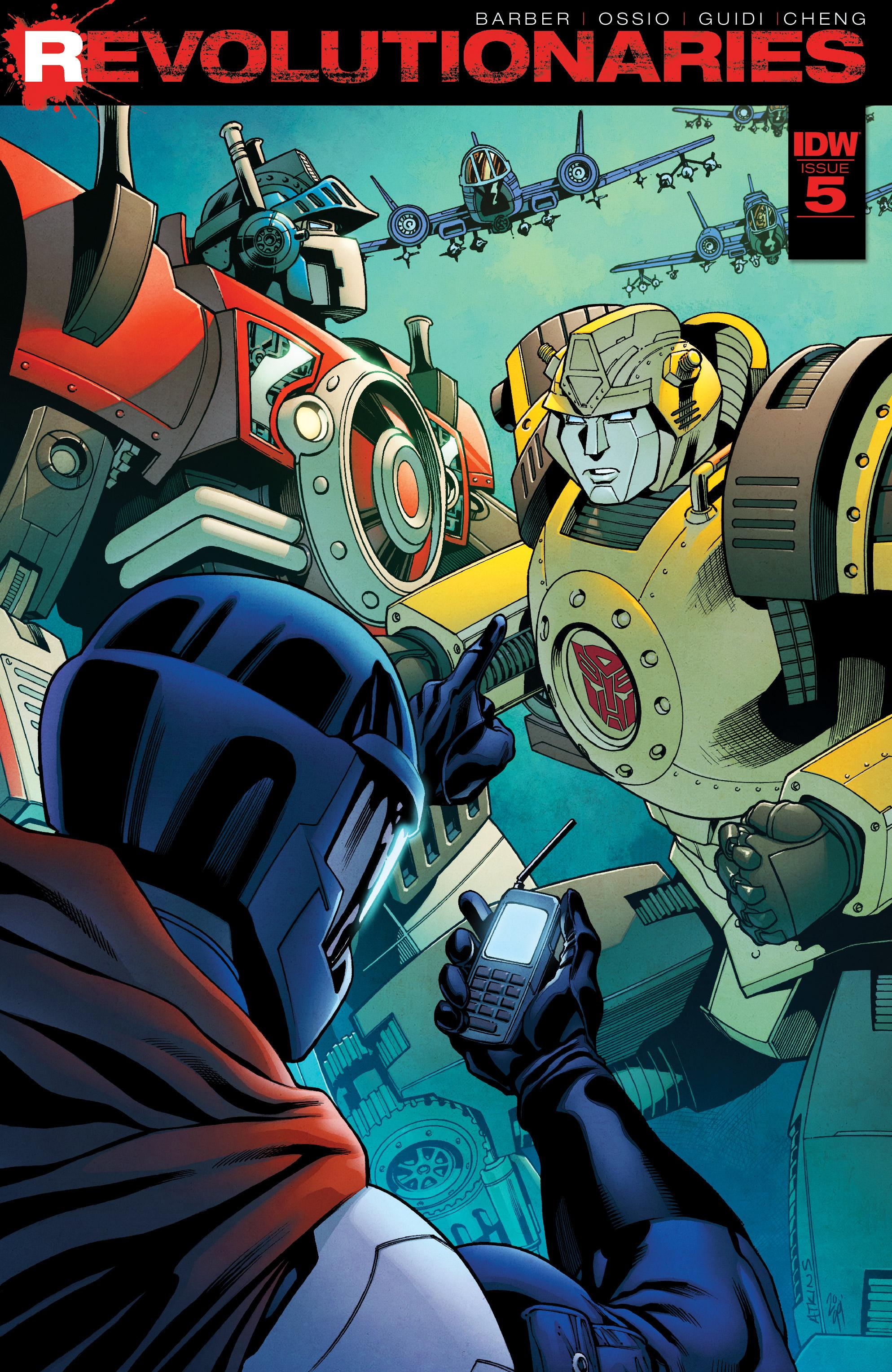 Read online Revolutionaries comic -  Issue #5 - 1