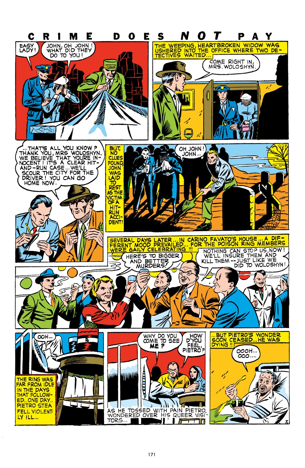 Read online Crime Does Not Pay Archives comic -  Issue # TPB 1 (Part 2) - 74