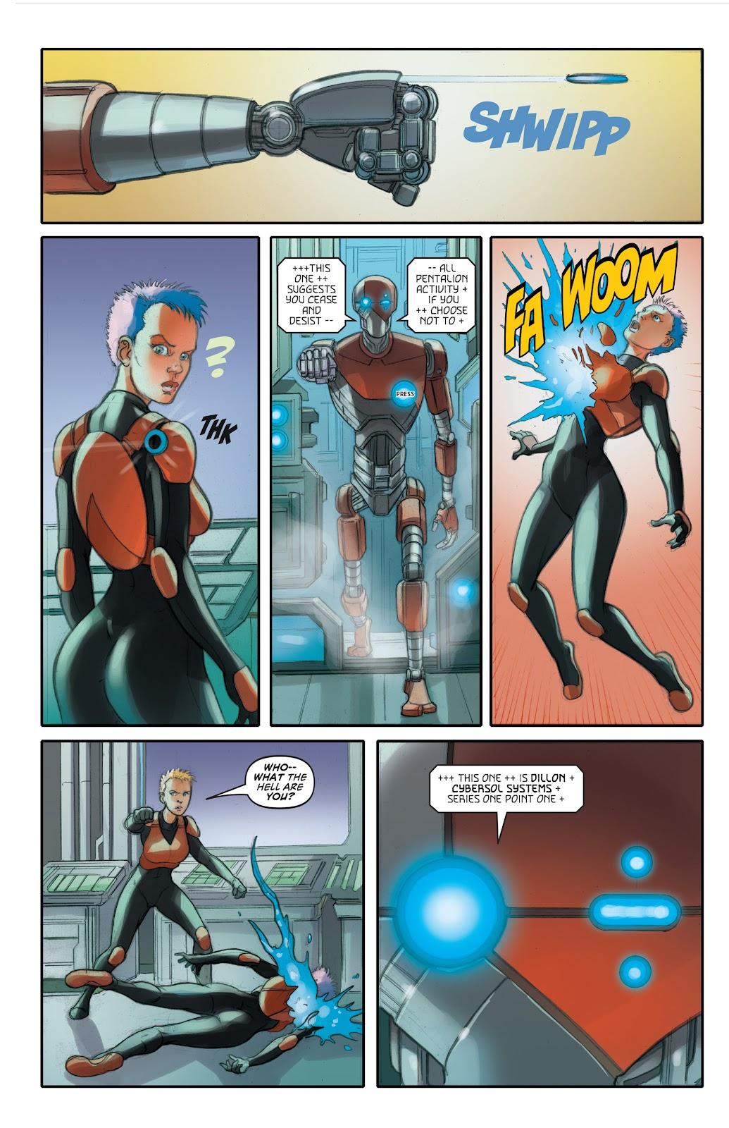 Read online Elephantmen 2261 Season Two: The Pentalion Job comic -  Issue # TPB - 61