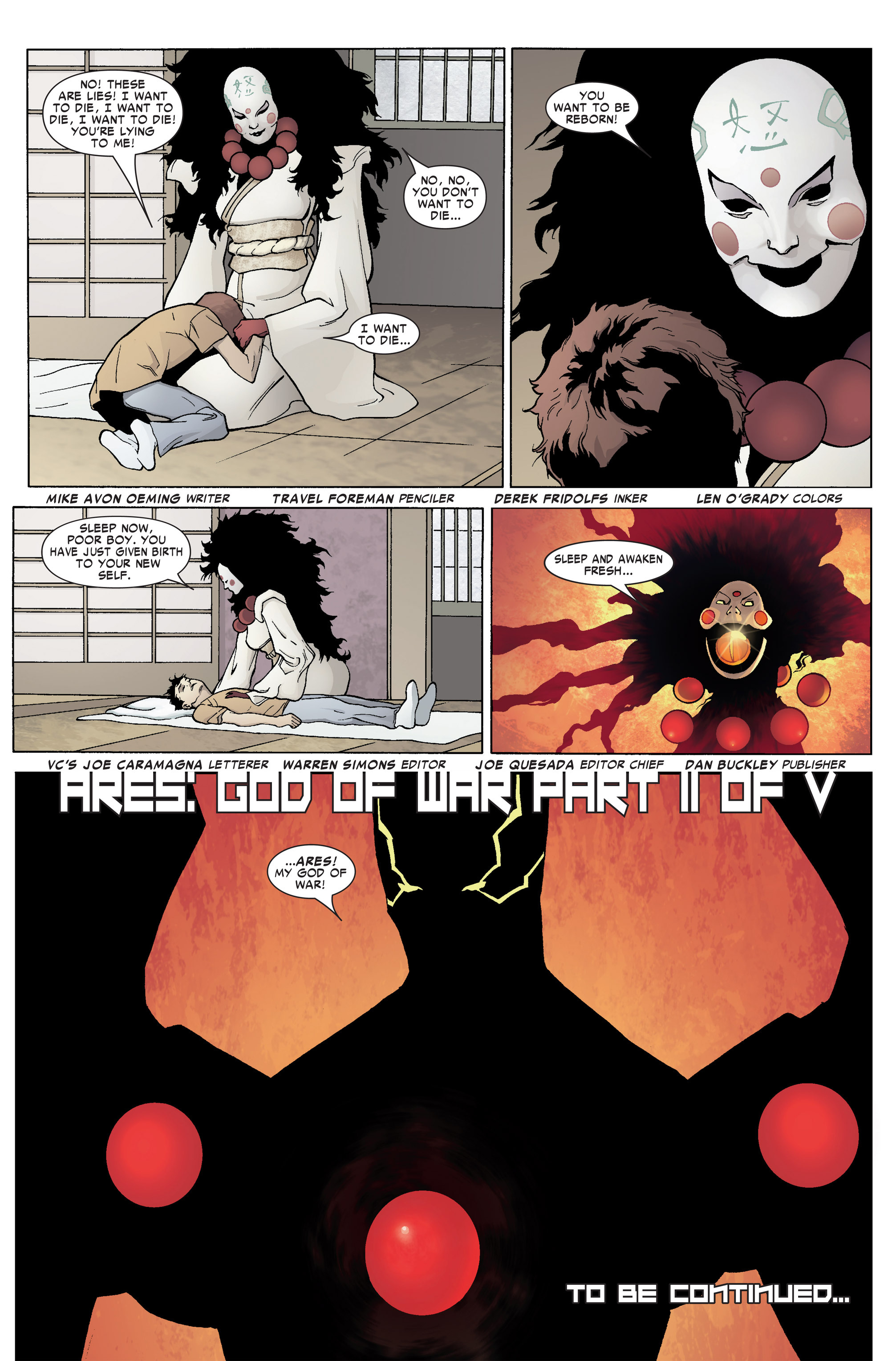 Read online Ares comic -  Issue #2 - 21