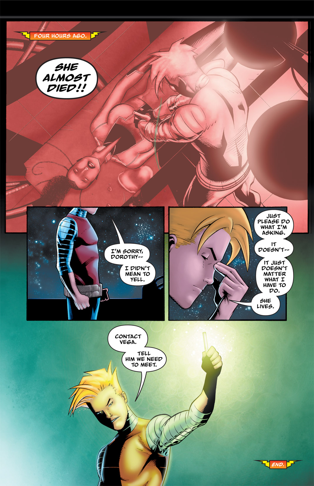 Read online The Many Adventures of Miranda Mercury: Time Runs Out comic -  Issue # TPB - 114