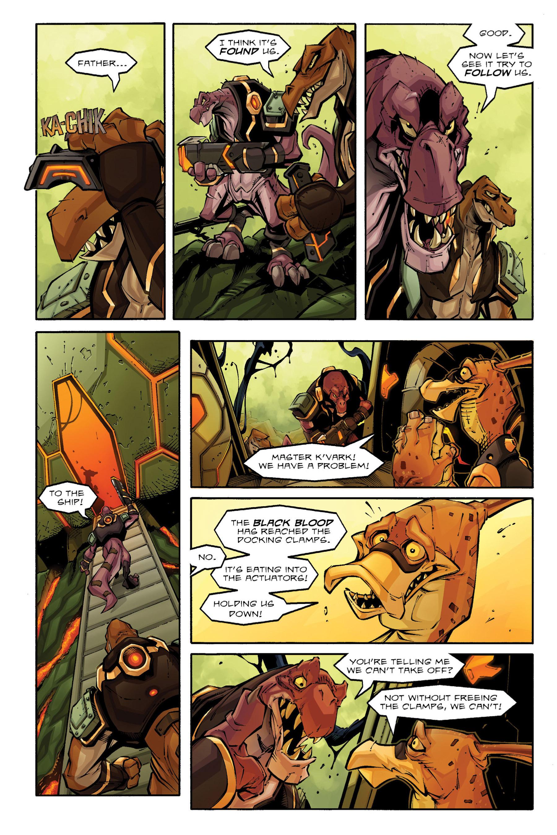 Read online Rexodus comic -  Issue # Full - 11