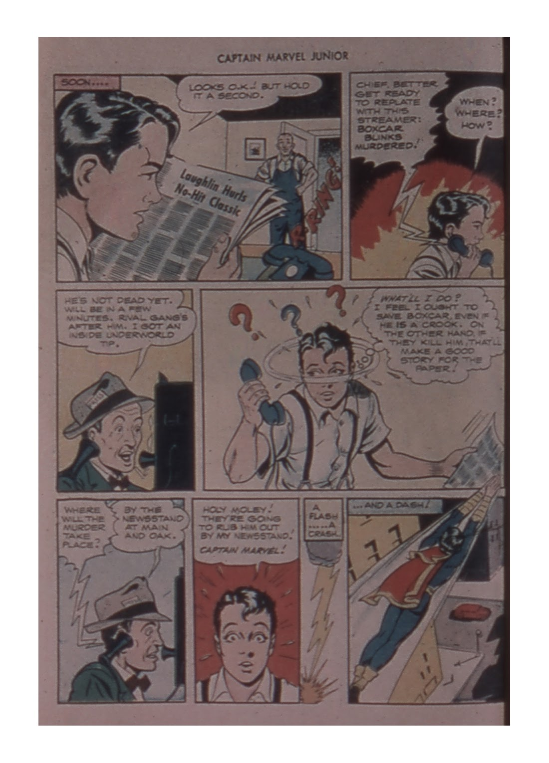 Captain Marvel, Jr. issue 59 - Page 10