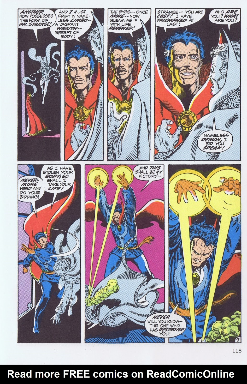 Doctor Strange: Master of the Mystic Arts issue TPB - Page 109