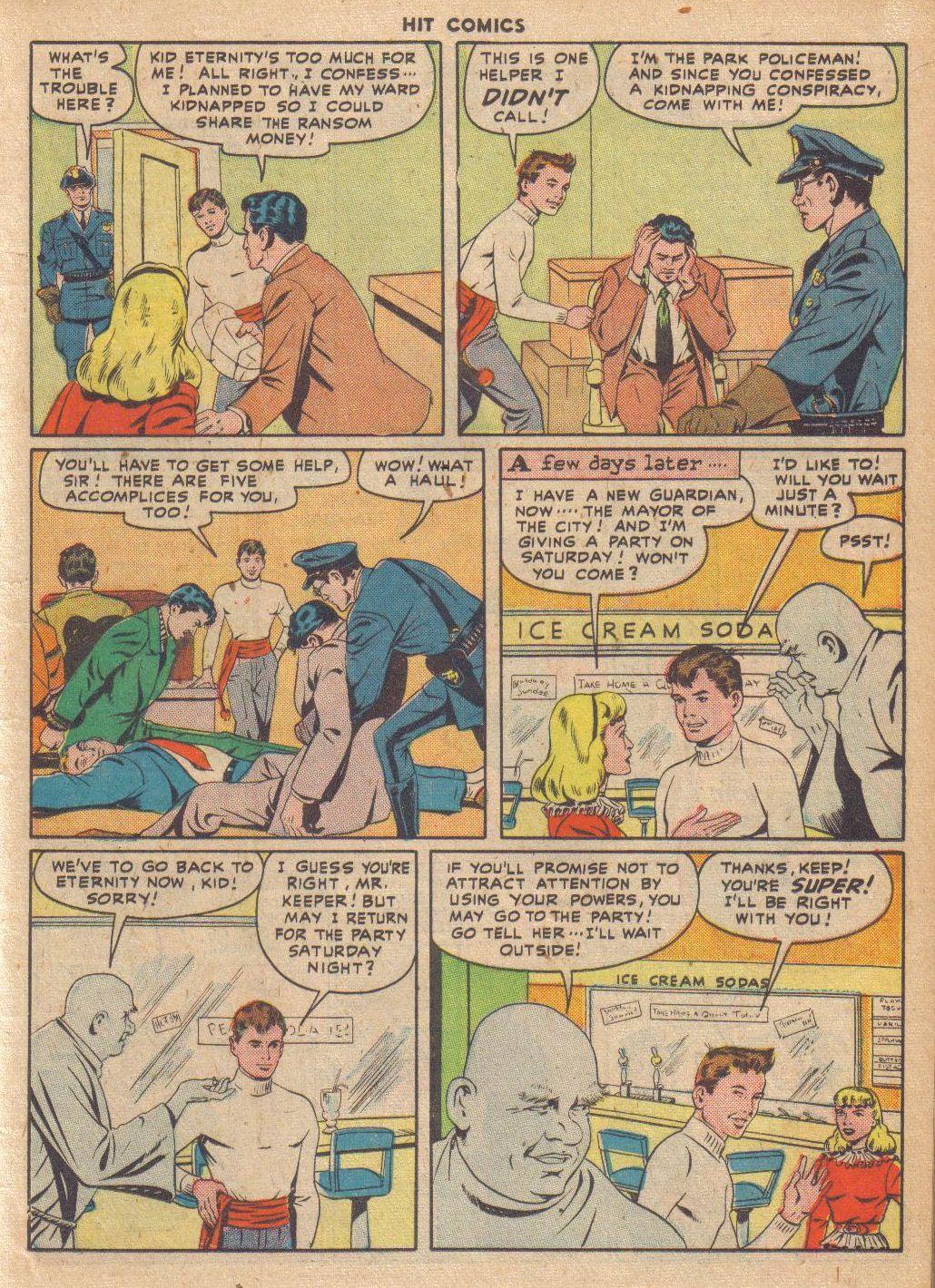 Read online Hit Comics comic -  Issue #46 - 17