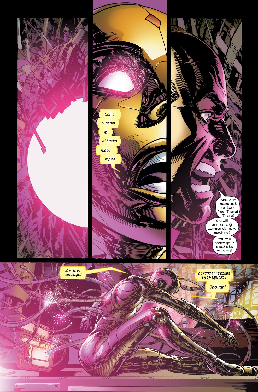 Read online Ultimate Vision comic -  Issue #1 - 21