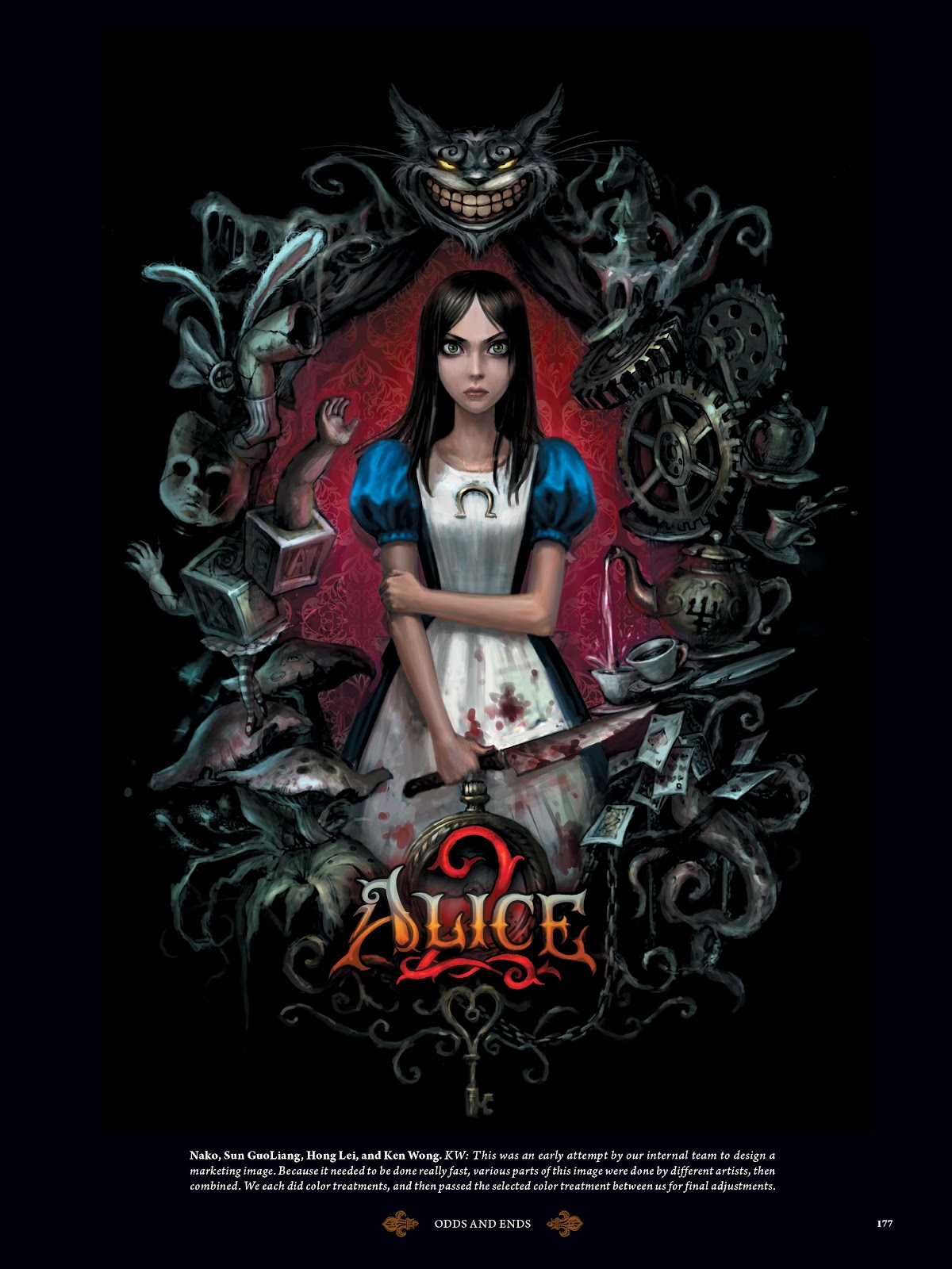 Read online The Art of Alice: Madness Returns comic -  Issue # TPB (Part 2) - 69
