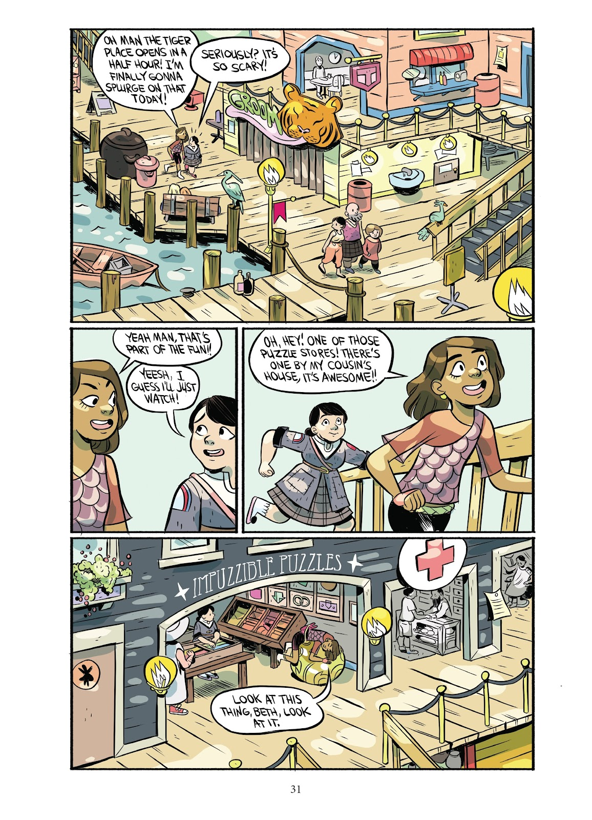 Read online Girl Town comic -  Issue # TPB (Part 1) - 32