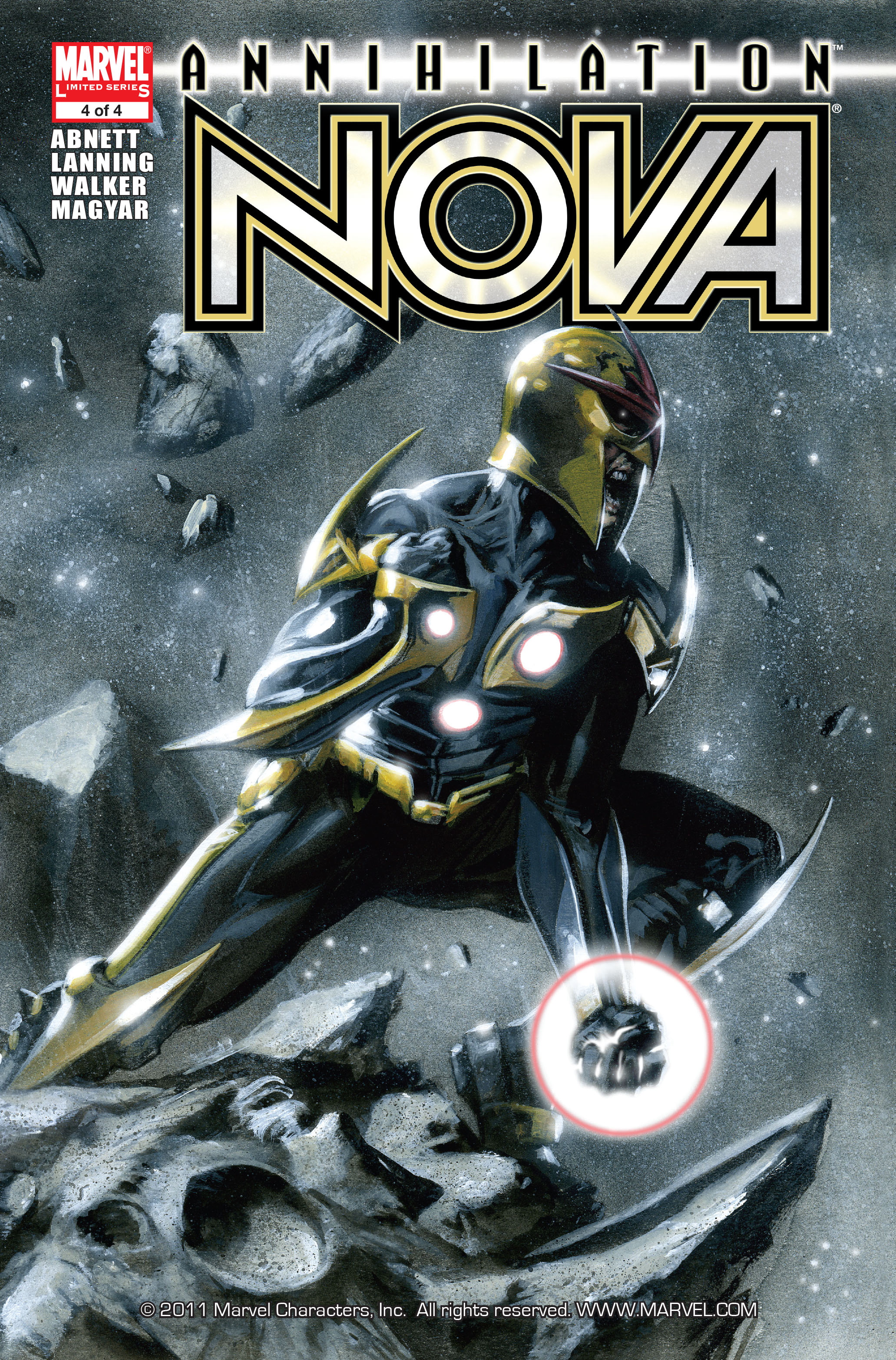 Read online Annihilation: Nova comic -  Issue #4 - 1