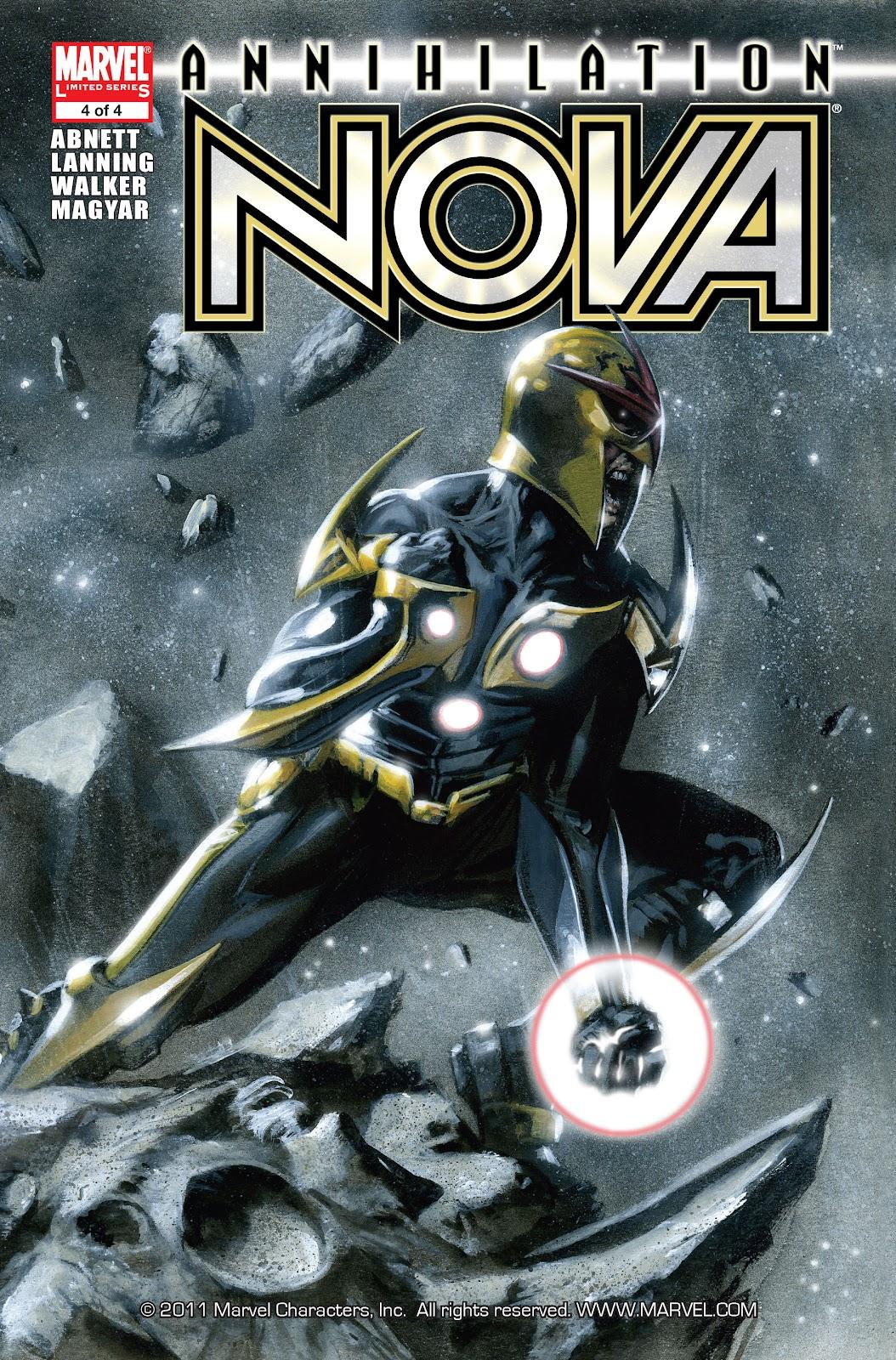Annihilation: Nova issue 4 - Page 1
