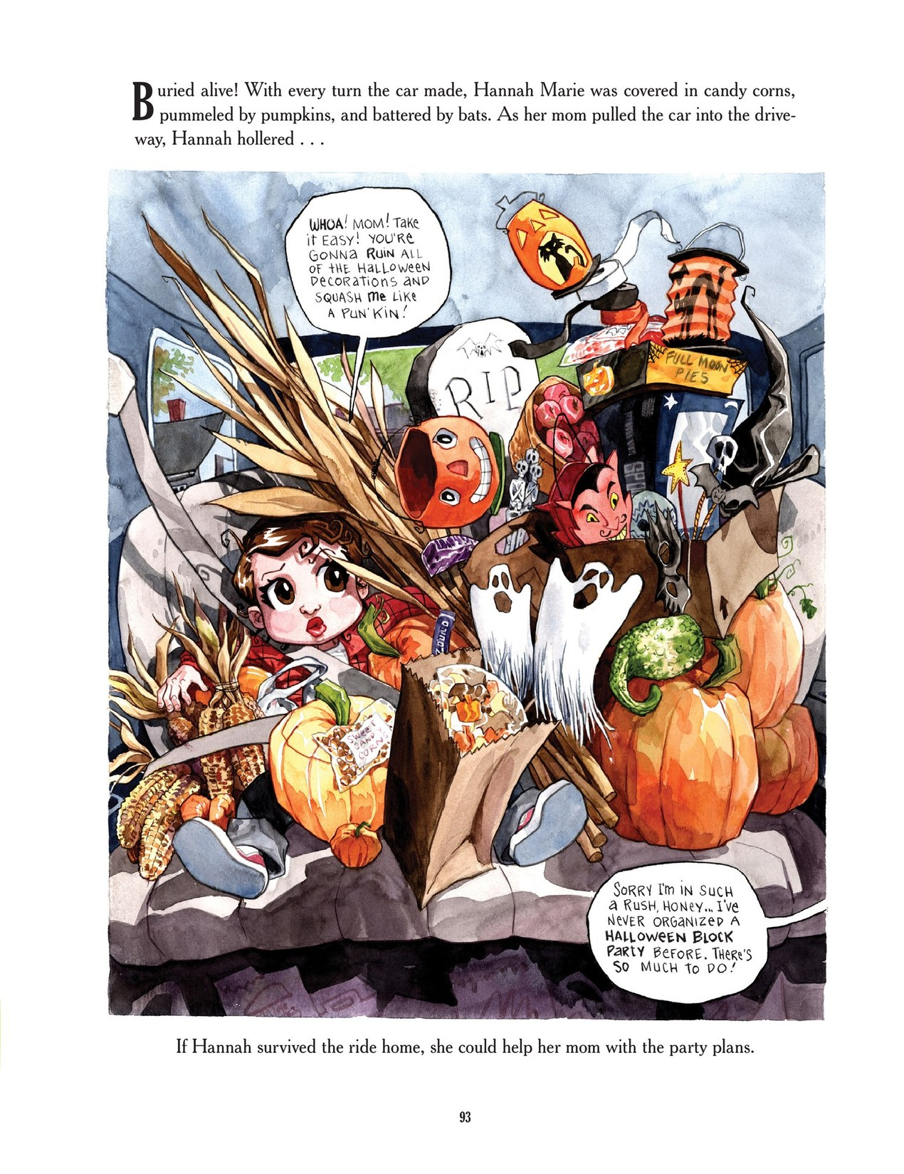 Read online Scary Godmother comic -  Issue # TPB - 93