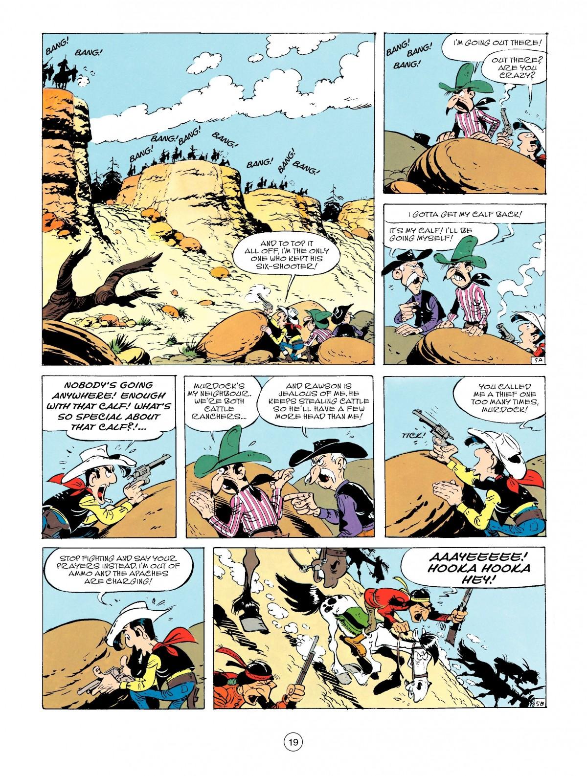 Read online A Lucky Luke Adventure comic -  Issue #50 - 19