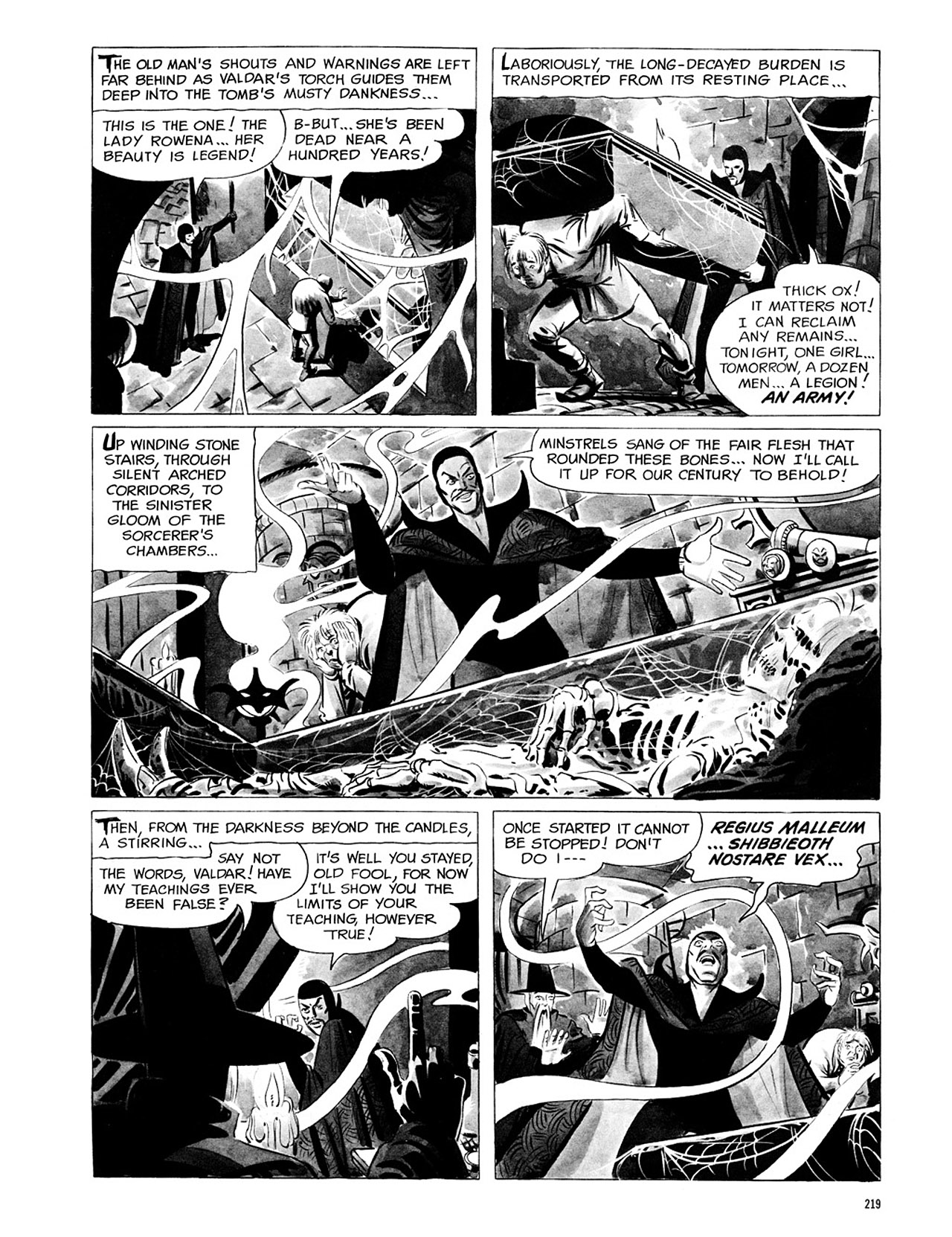 Read online Eerie Archives comic -  Issue # TPB 1 - 220