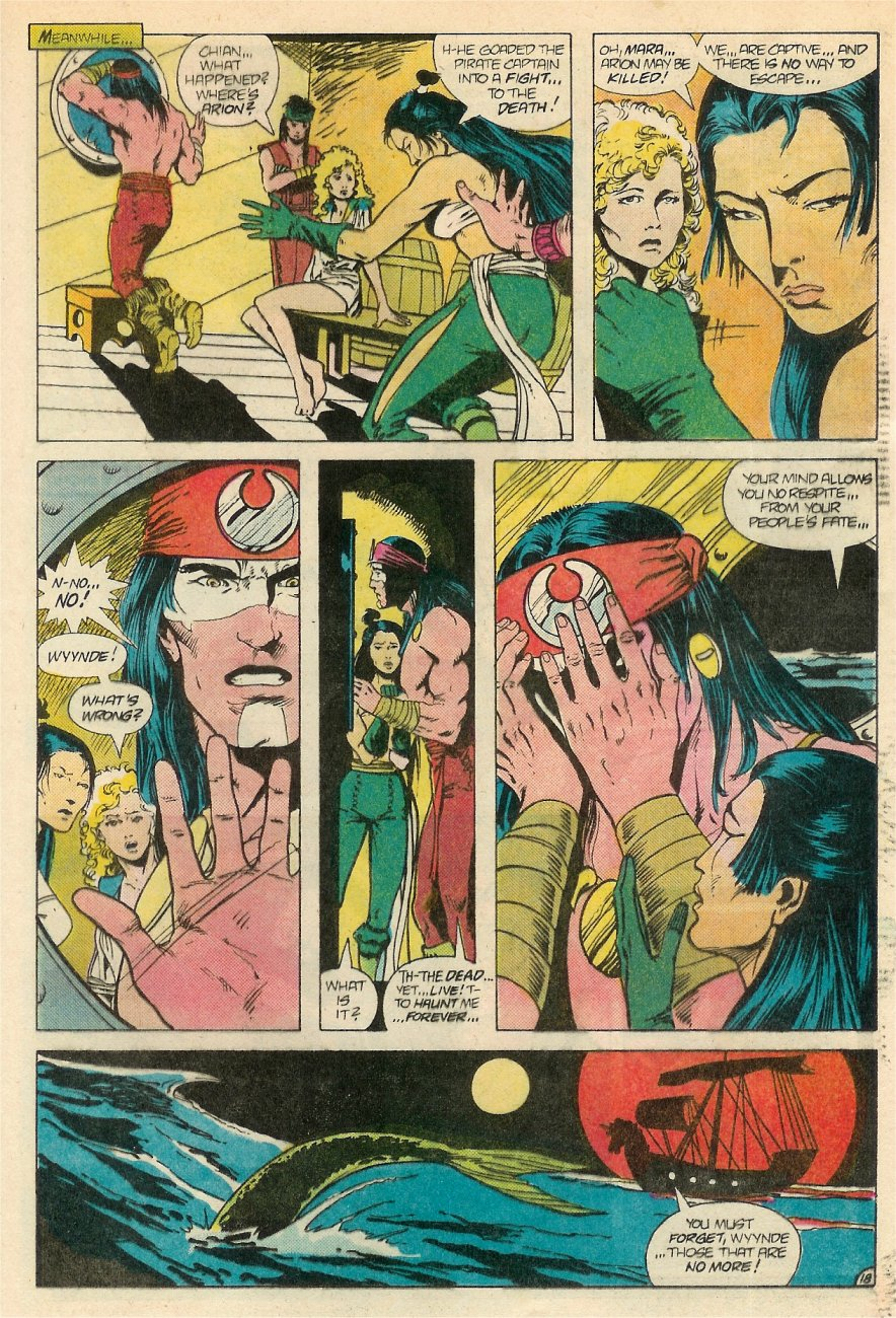Read online Arion, Lord of Atlantis comic -  Issue #20 - 19