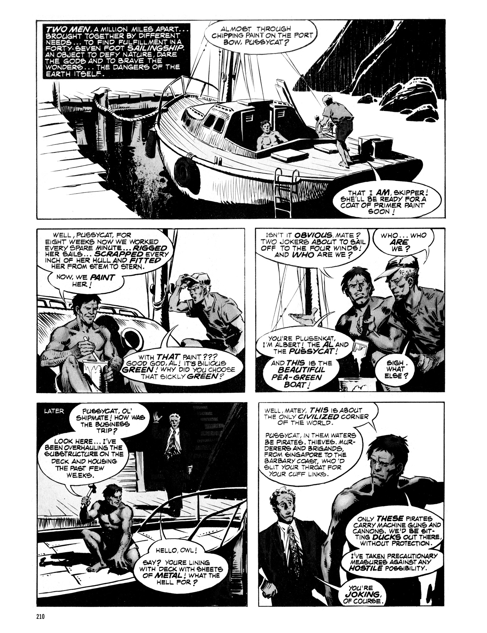 Read online Eerie Archives comic -  Issue # TPB 16 - 211