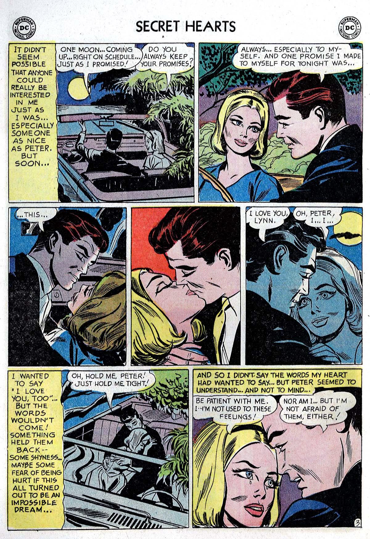 Read online Secret Hearts comic -  Issue #82 - 20