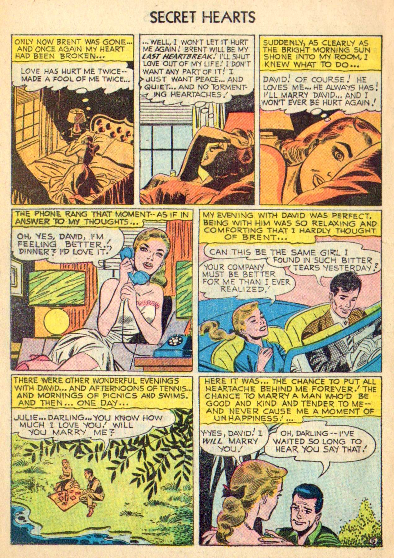 Read online Secret Hearts comic -  Issue #31 - 14