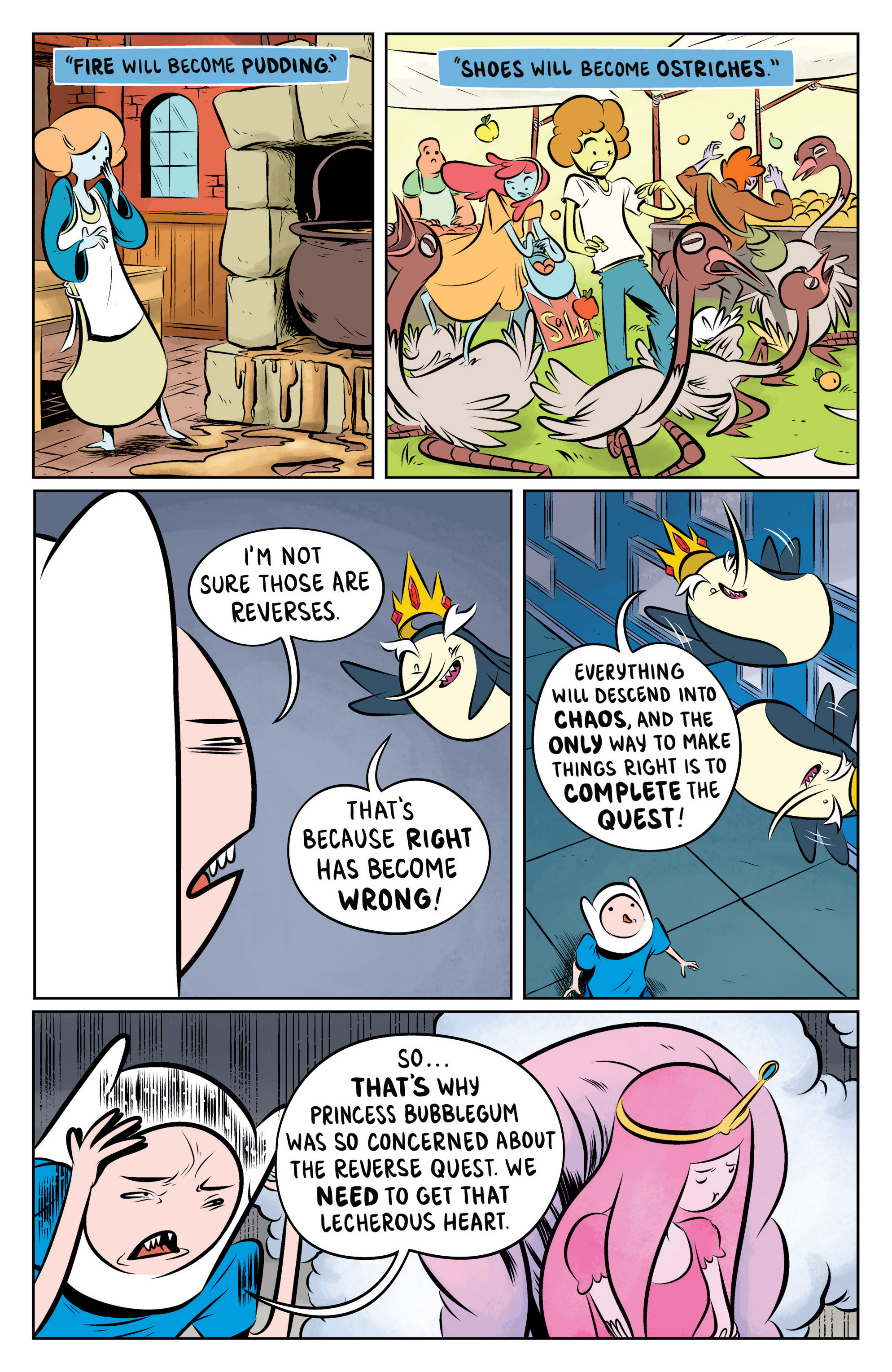 Read online Adventure Time: The Flip Side comic -  Issue #2 - 21