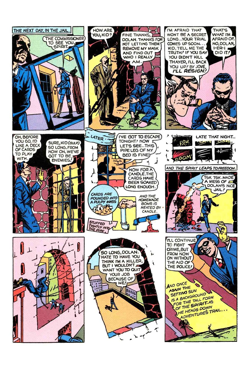 Read online Will Eisner's The Spirit Archives comic -  Issue # TPB 1 (Part 1) - 57