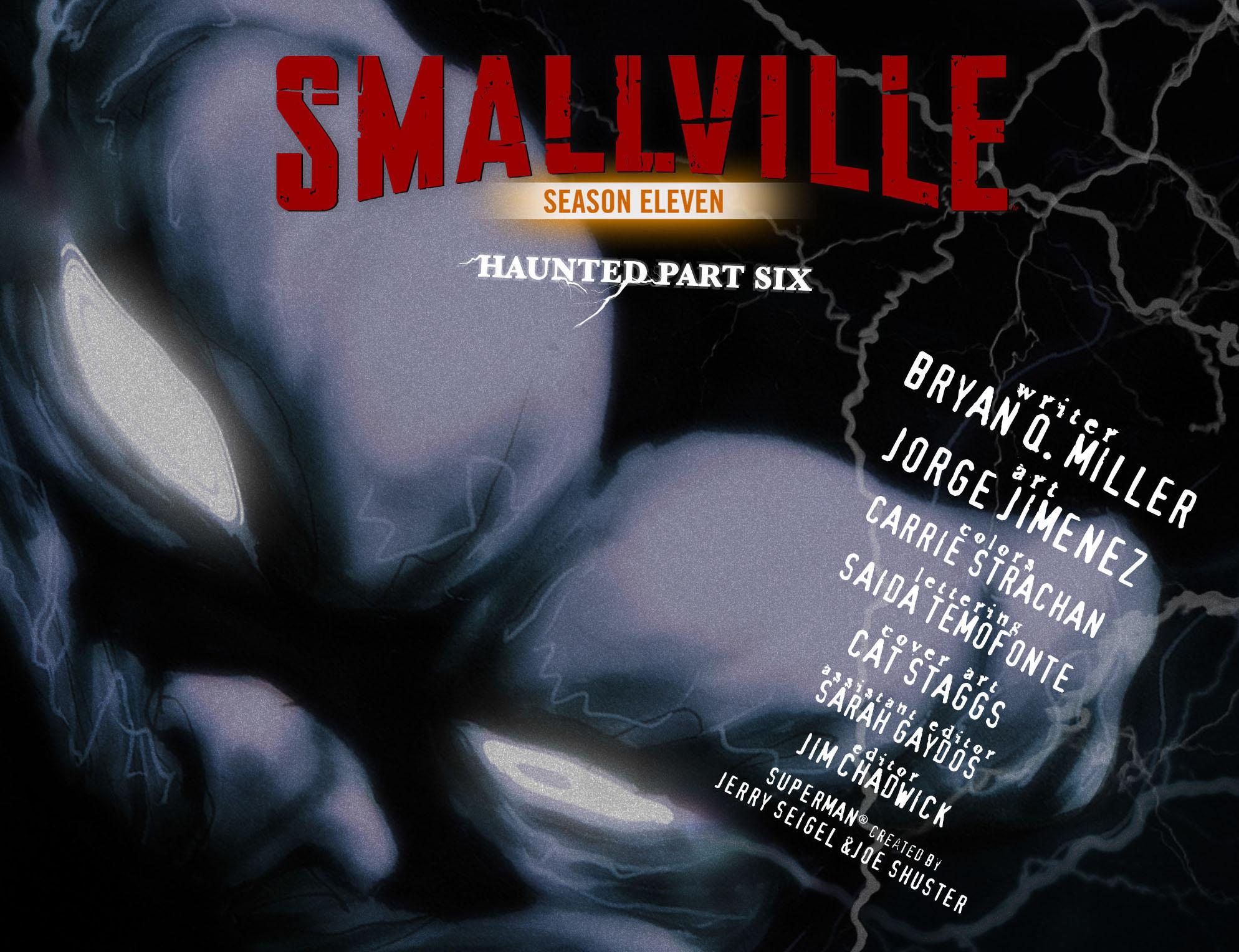 Read online Smallville: Season 11 comic -  Issue #31 - 2