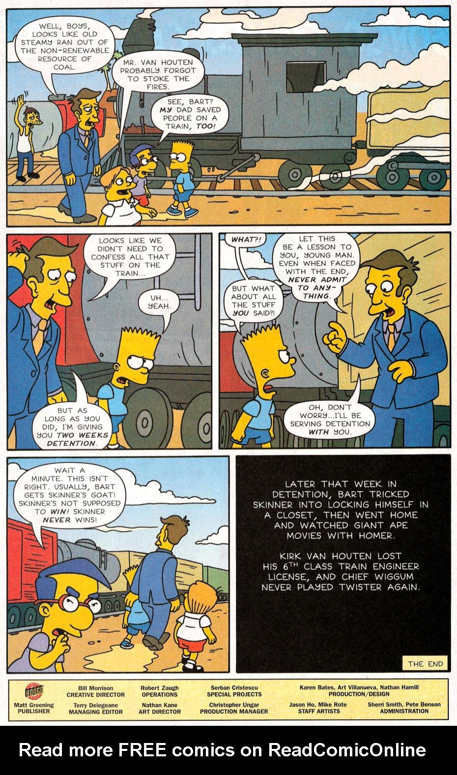 Read online Simpsons Comics Presents Bart Simpson comic -  Issue #30 - 26