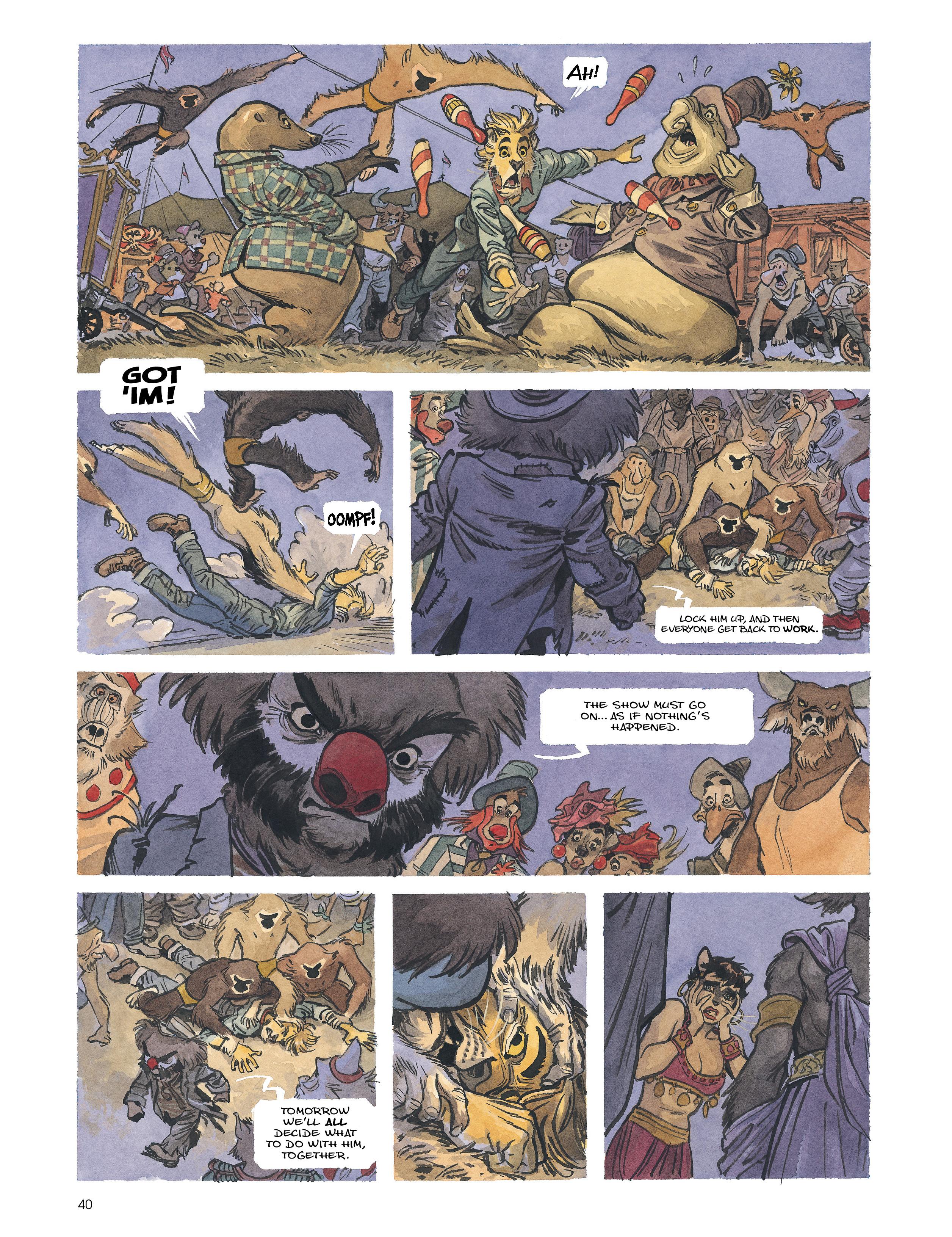 Read online Blacksad: Amarillo comic -  Issue # Full - 39