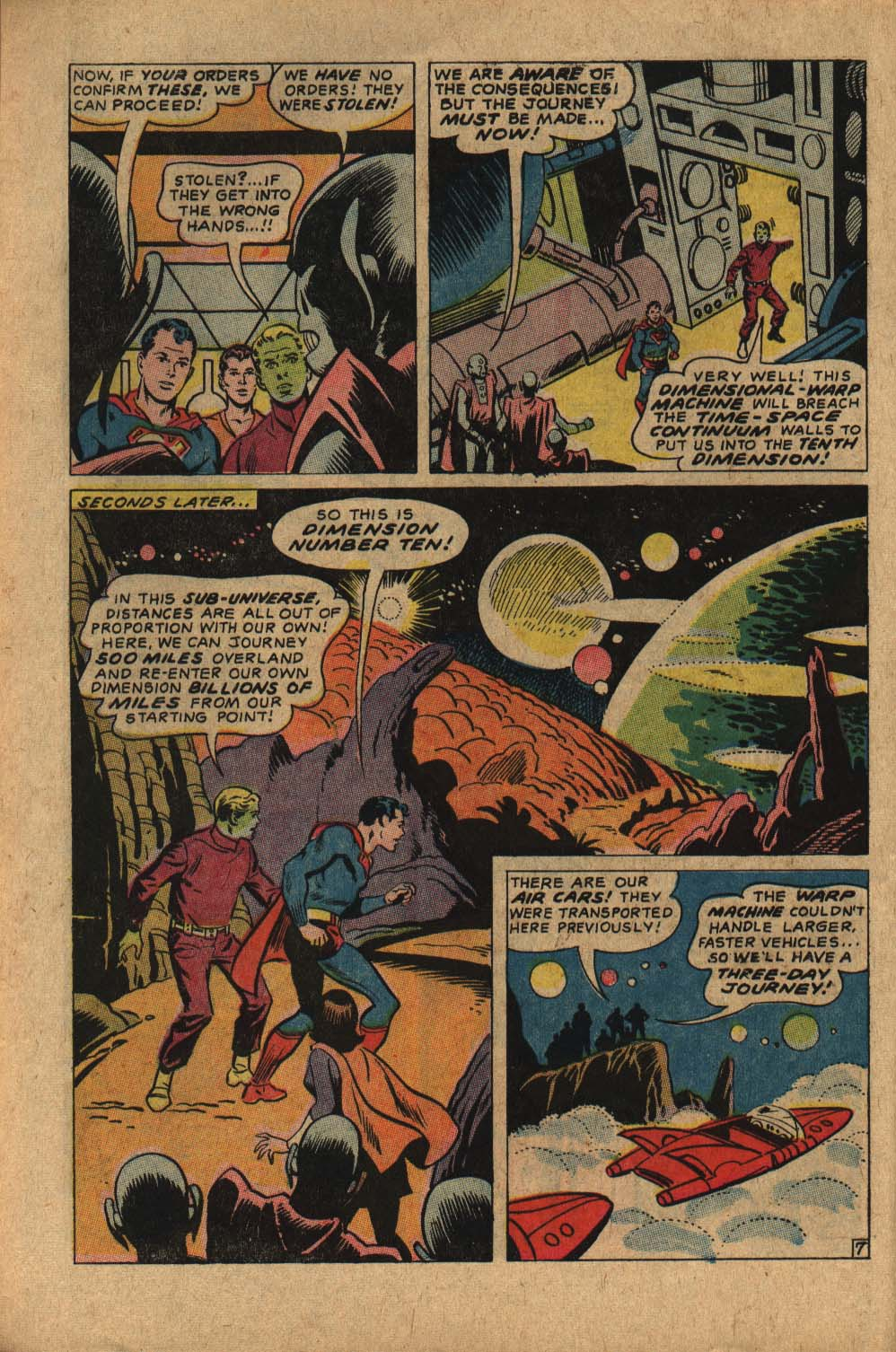 Read online Adventure Comics (1938) comic -  Issue #361 - 10