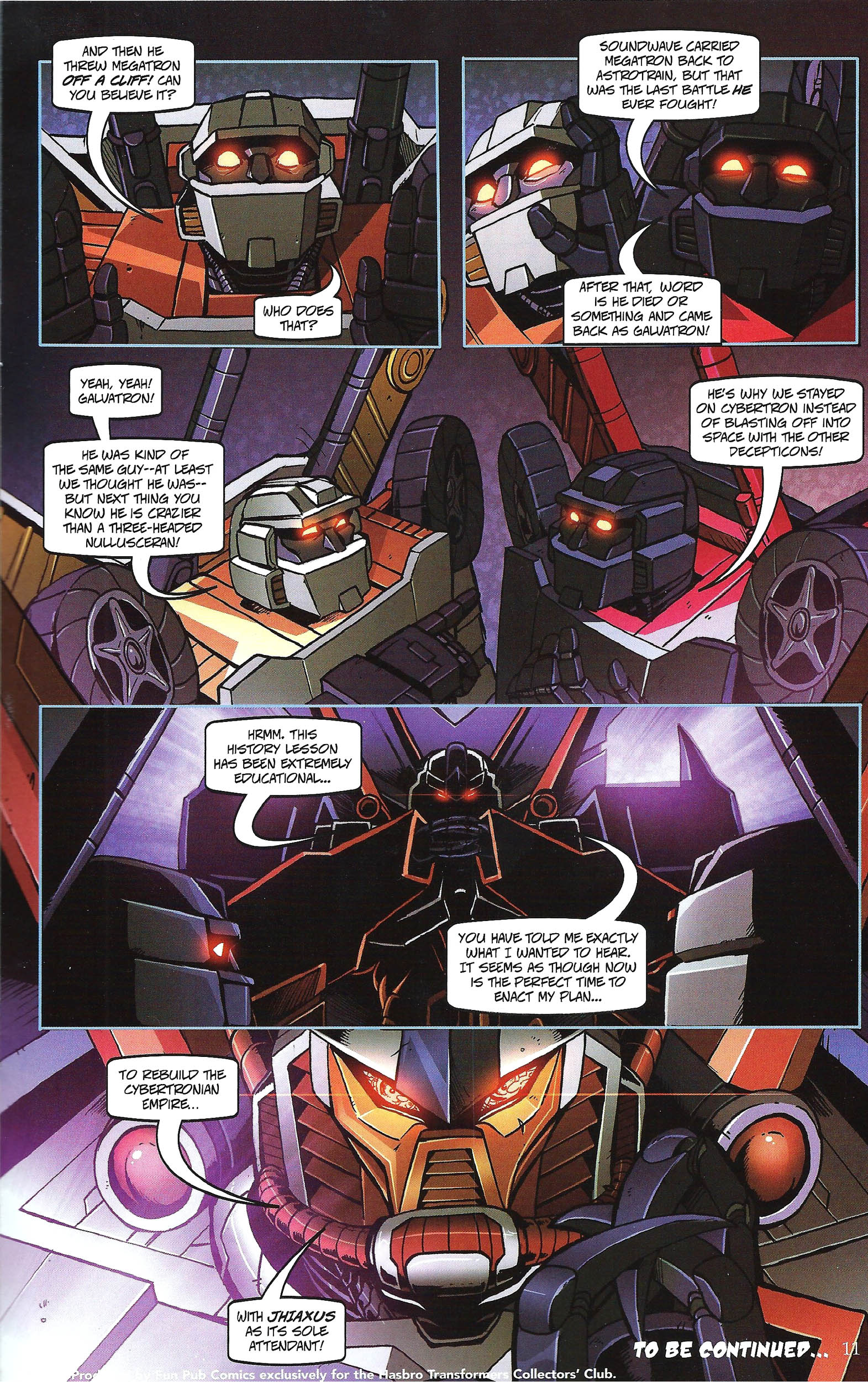 Read online Transformers: Collectors' Club comic -  Issue #43 - 11