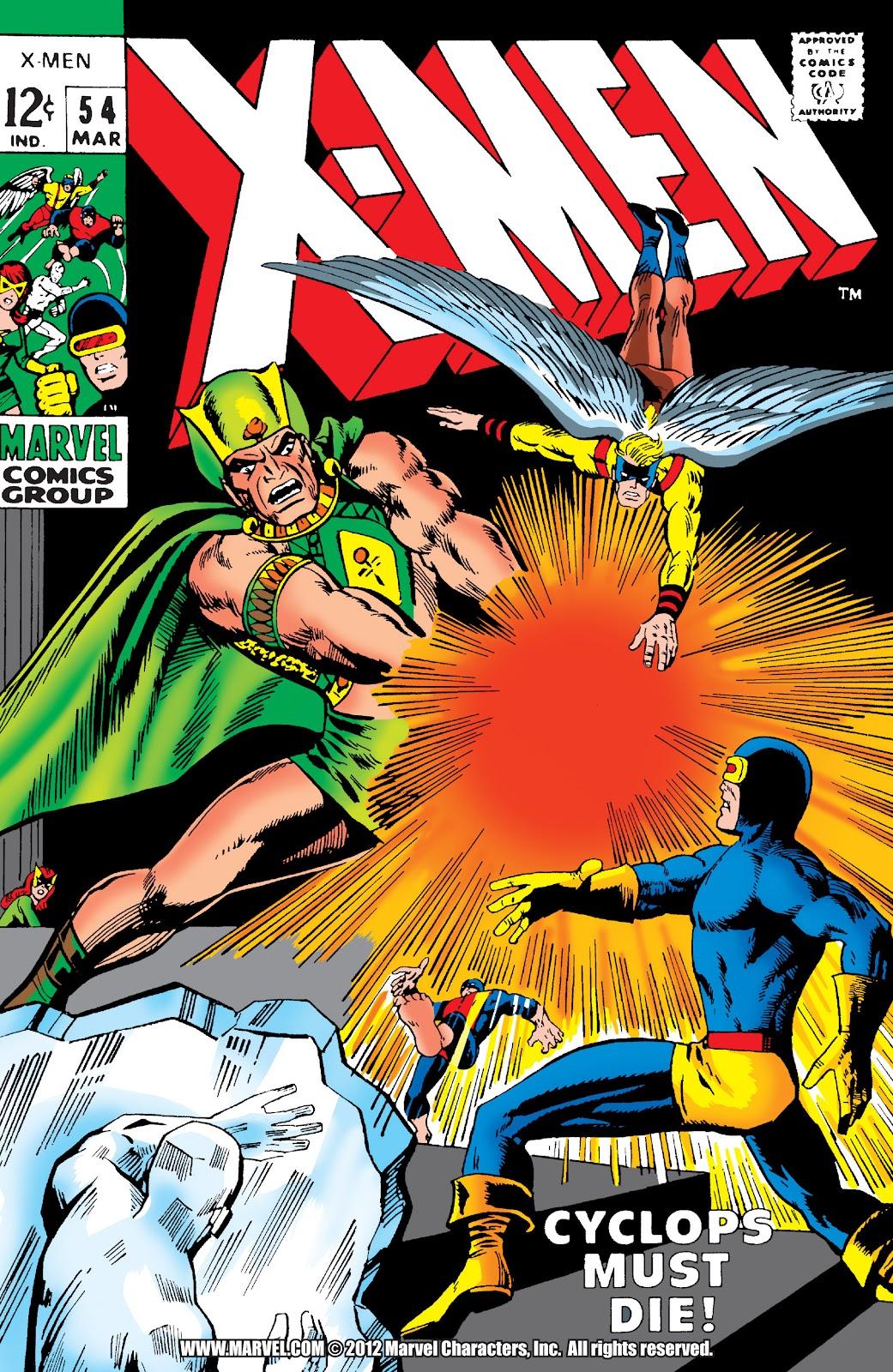Uncanny X-Men (1963) issue 54 - Page 1