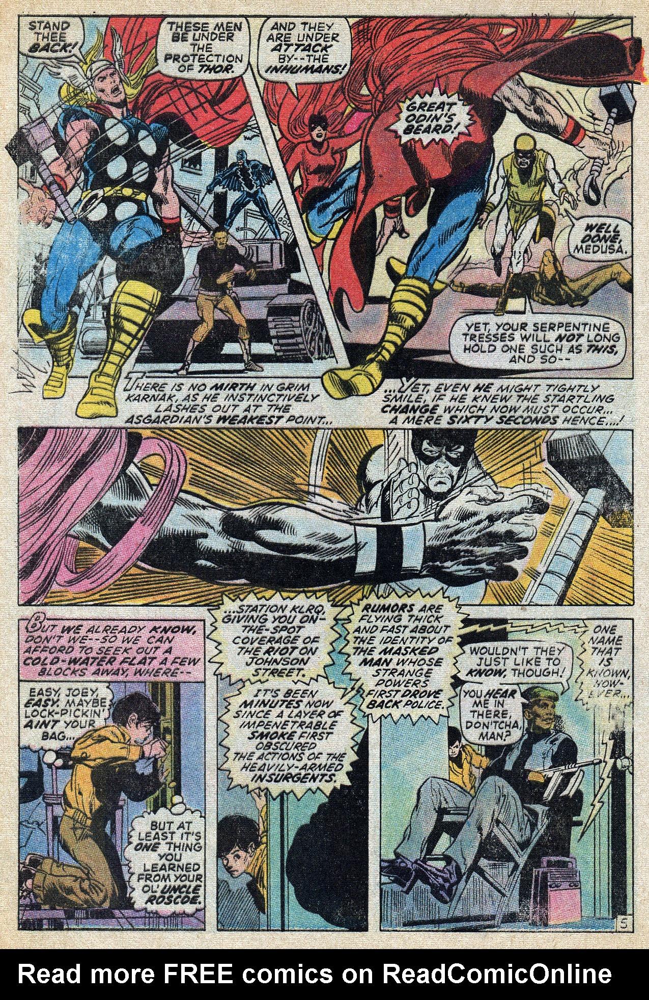 Read online Amazing Adventures (1970) comic -  Issue #8 - 8