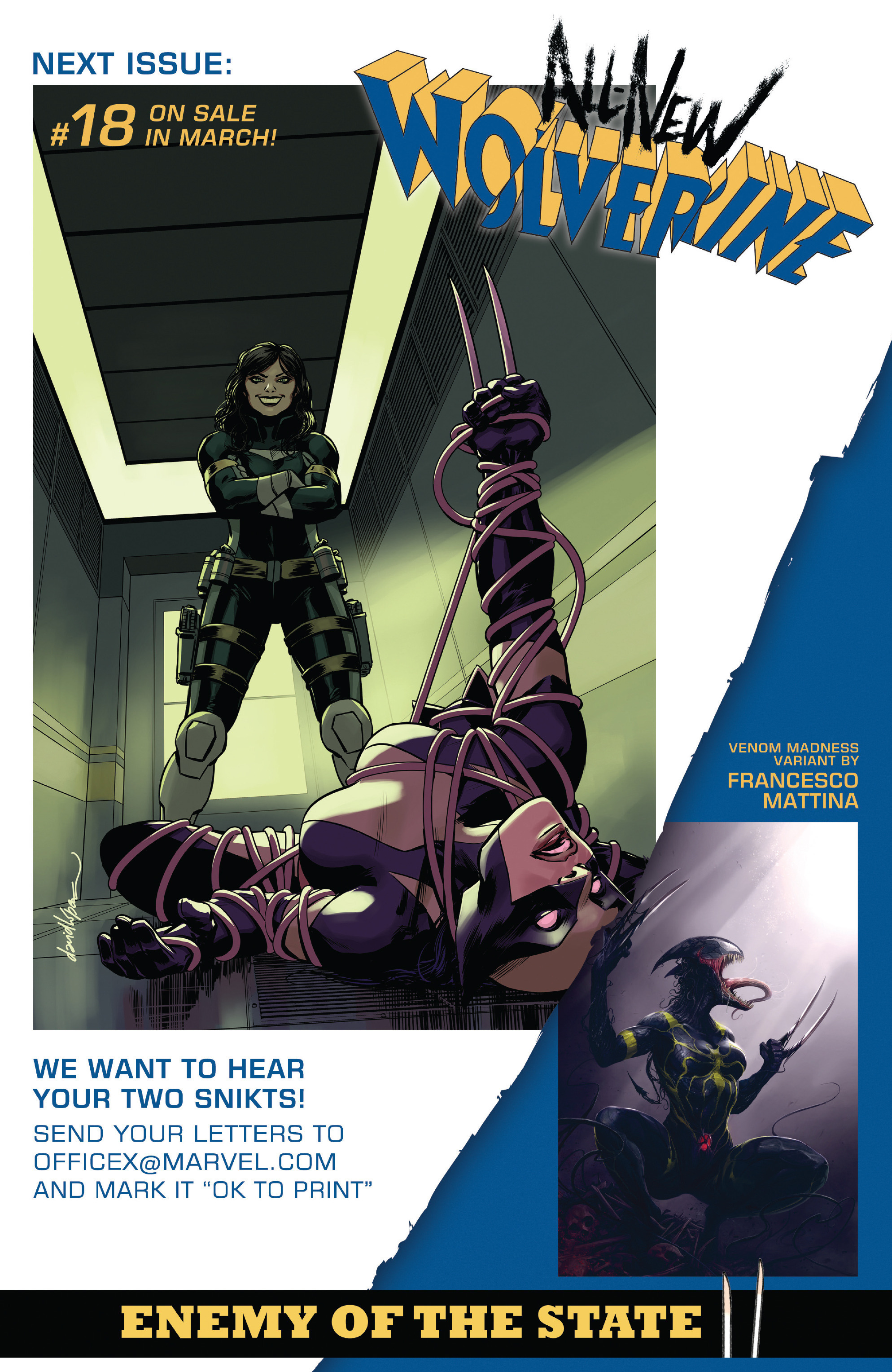 Read online All-New Wolverine (2016) comic -  Issue #17 - 24