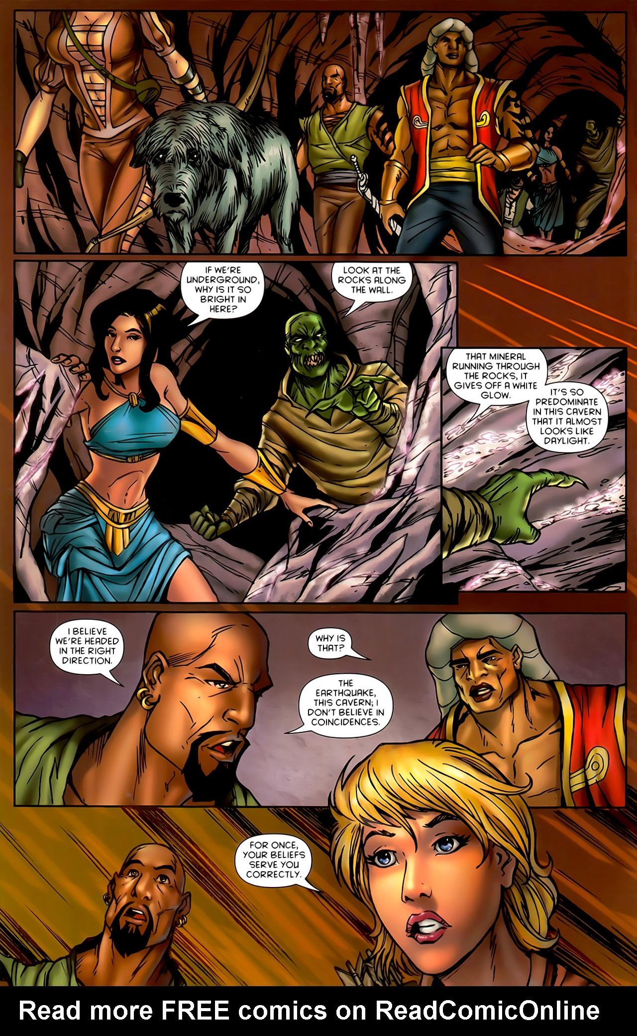 Read online 1001 Arabian Nights: The Adventures of Sinbad comic -  Issue #10 - 8