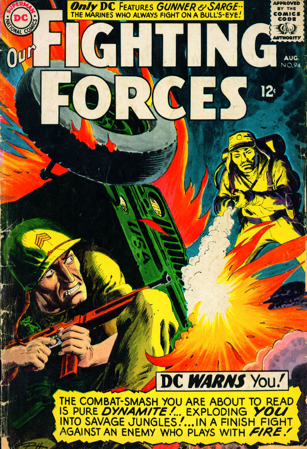 Our Fighting Forces (1954) issue 94 - Page 1