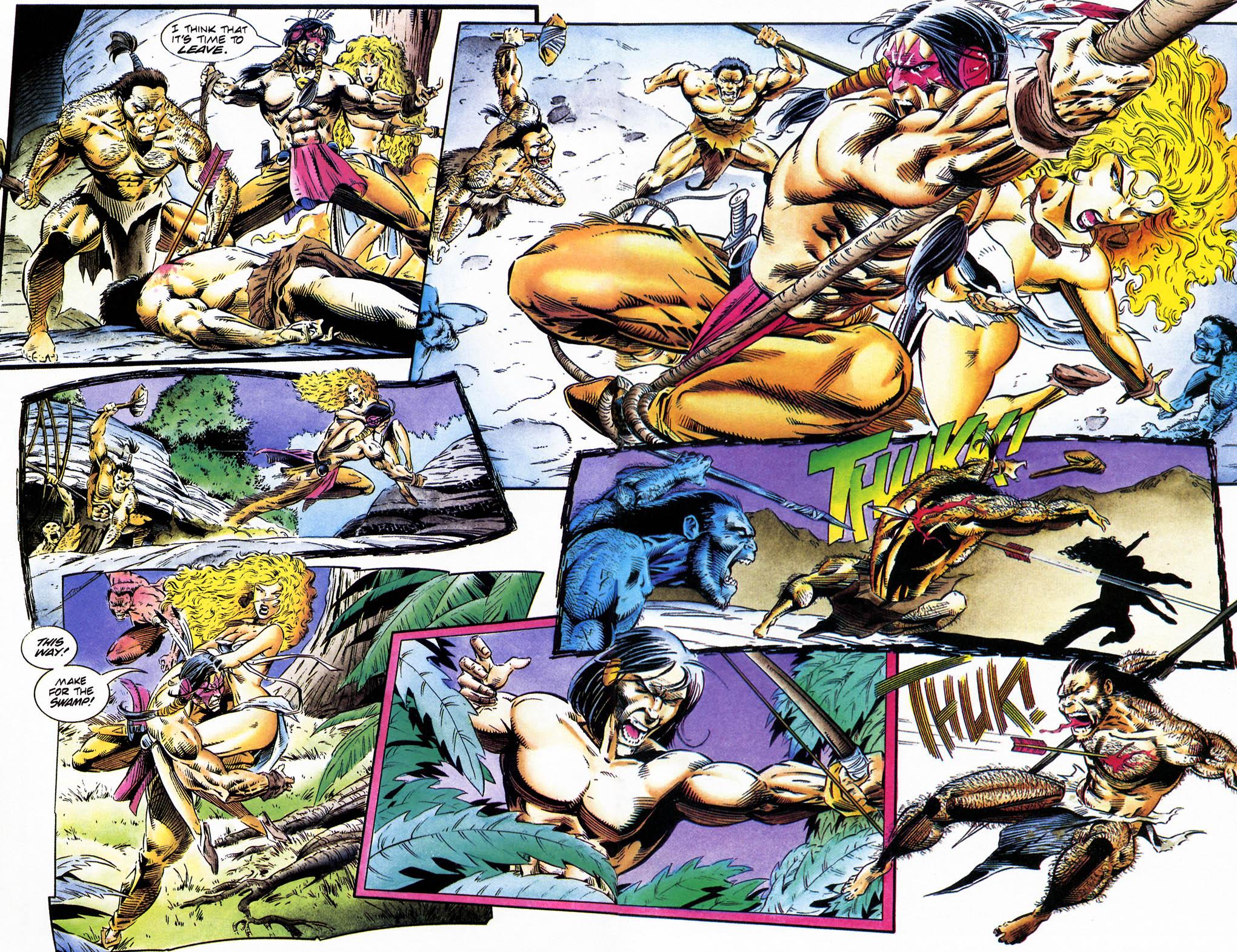 Read online Turok, Dinosaur Hunter (1993) comic -  Issue #35 - 6