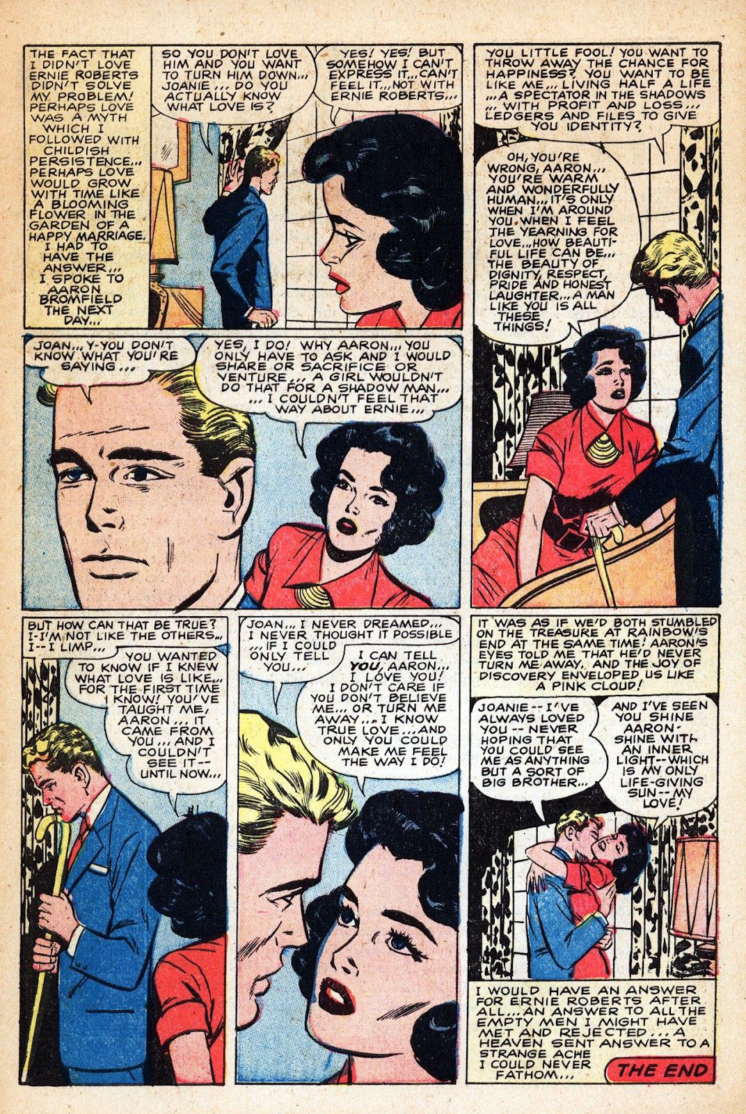 Love Romances (1949) issue 83 - Page 7