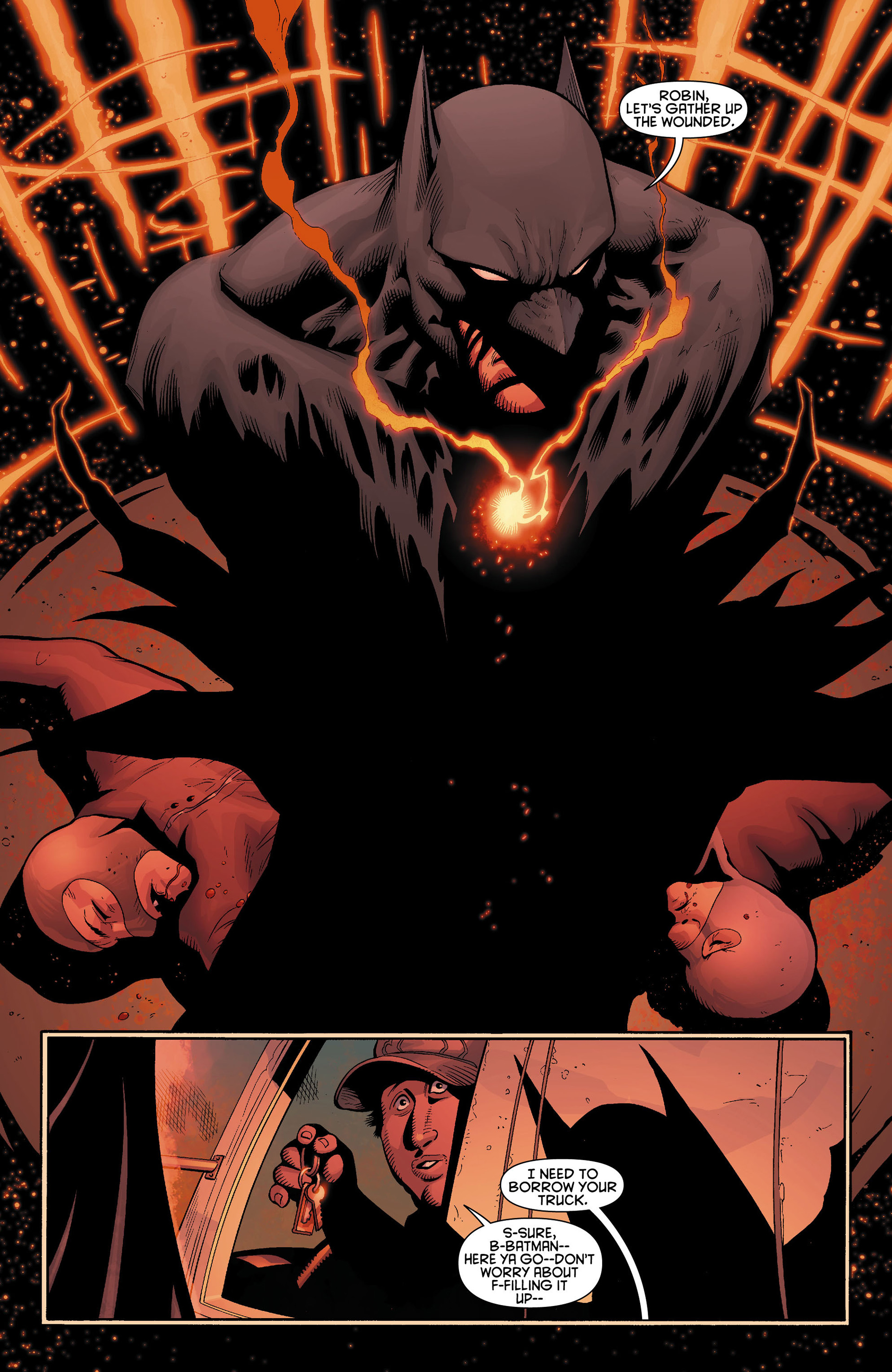 Read online Batman and Robin (2011) comic -  Issue #11 - 14