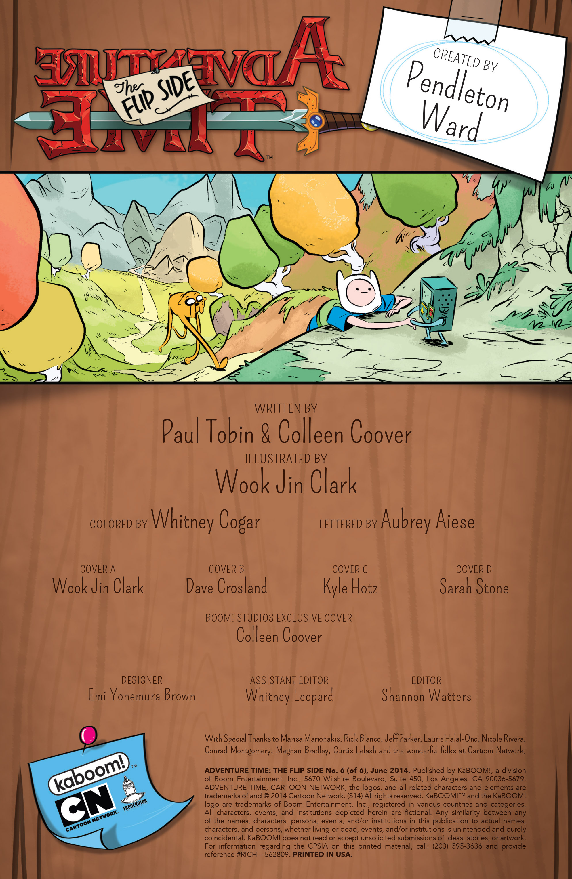 Read online Adventure Time: The Flip Side comic -  Issue #6 - 2