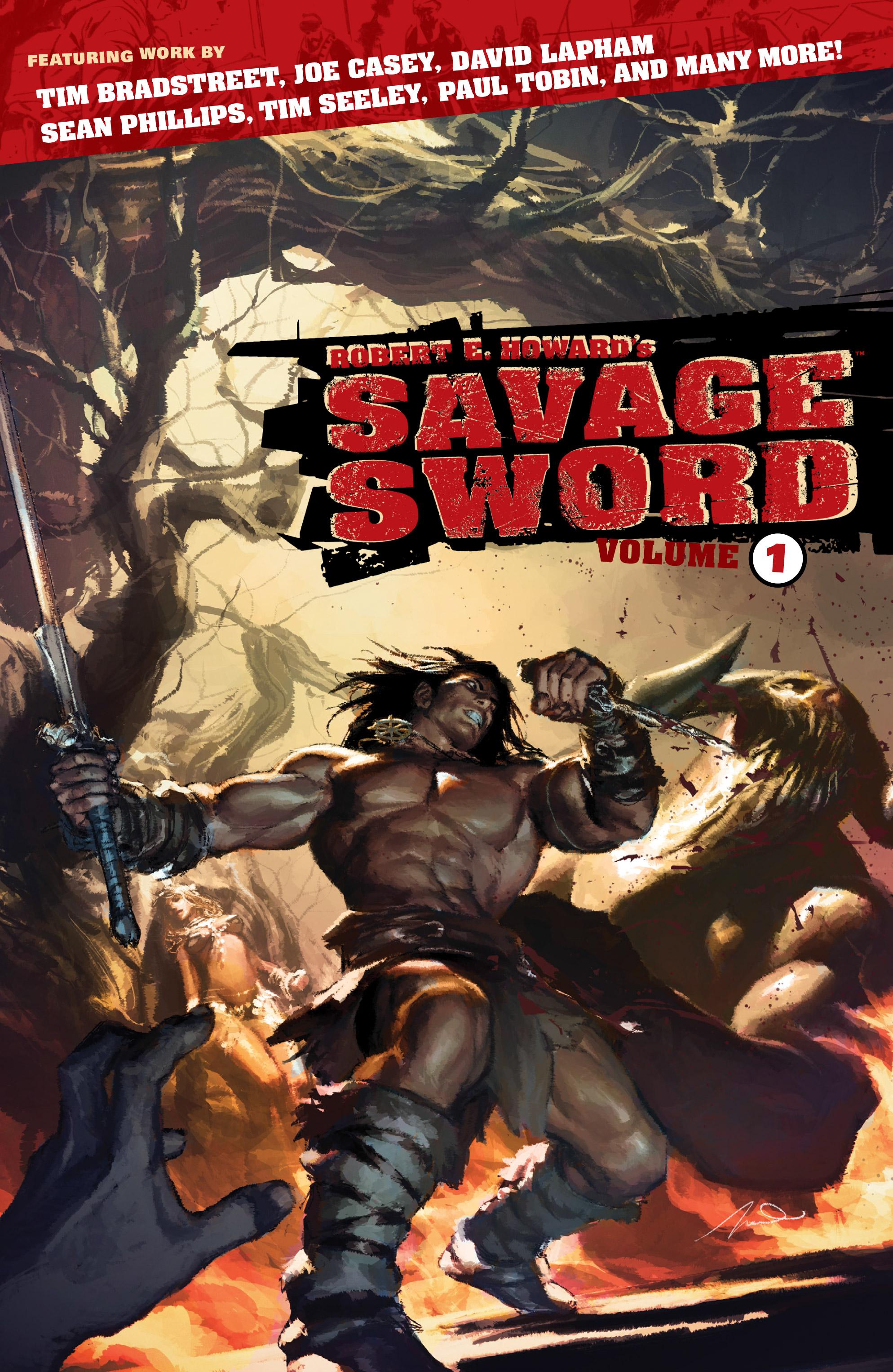 Robert E. Howards Savage Sword _TPB_1 Page 1