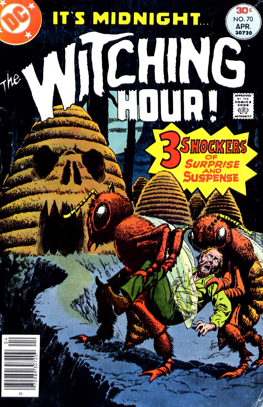 The Witching Hour (1969) issue 70 - Page 1