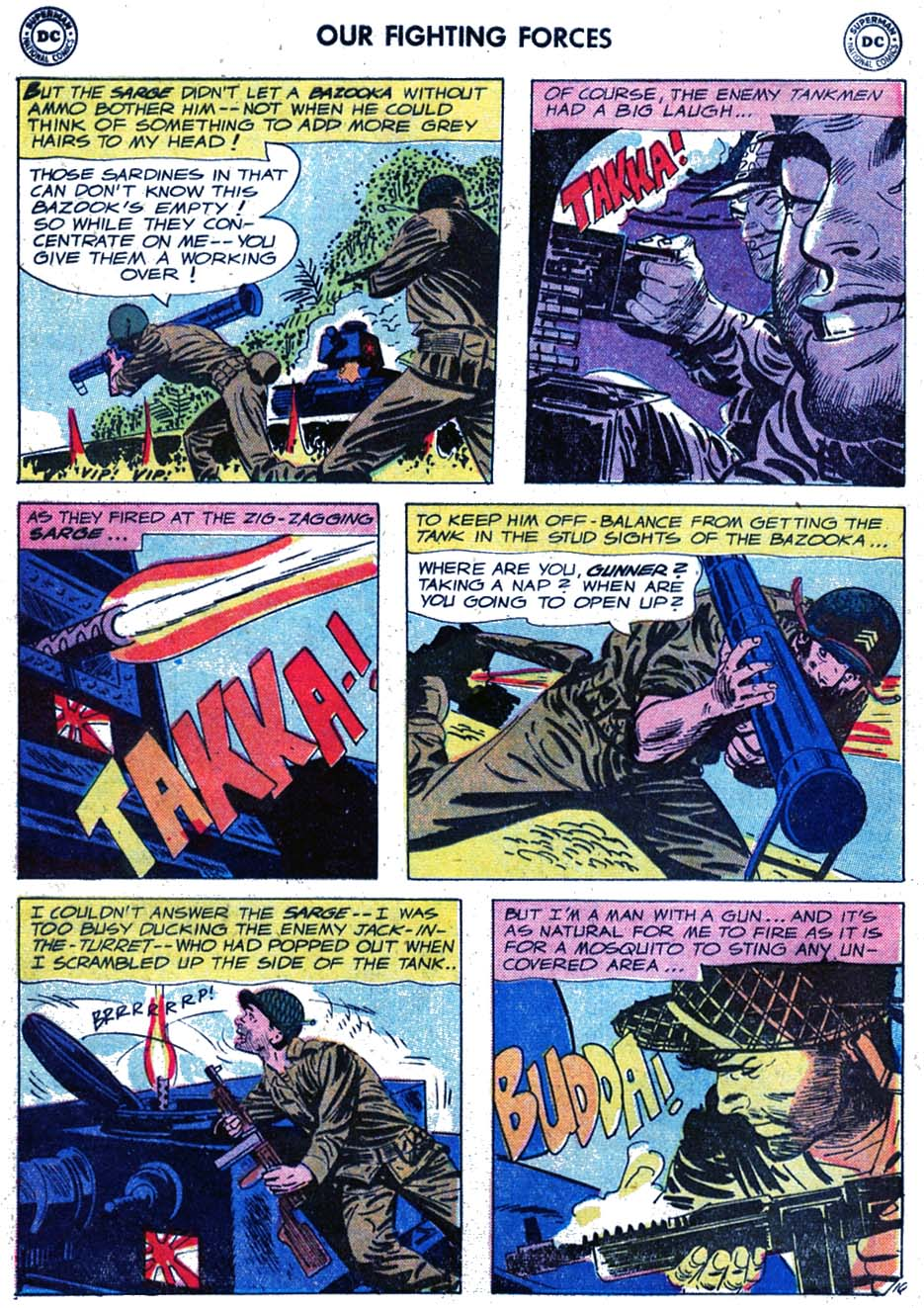 Our Fighting Forces (1954) issue 46 - Page 12