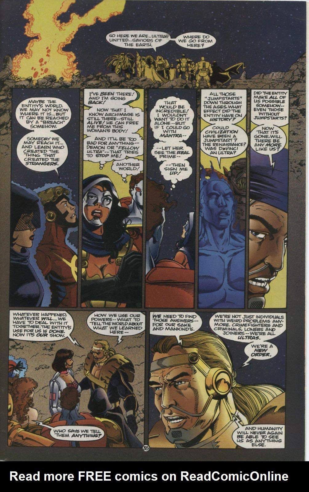 Read online Break-Thru comic -  Issue #2 - 36
