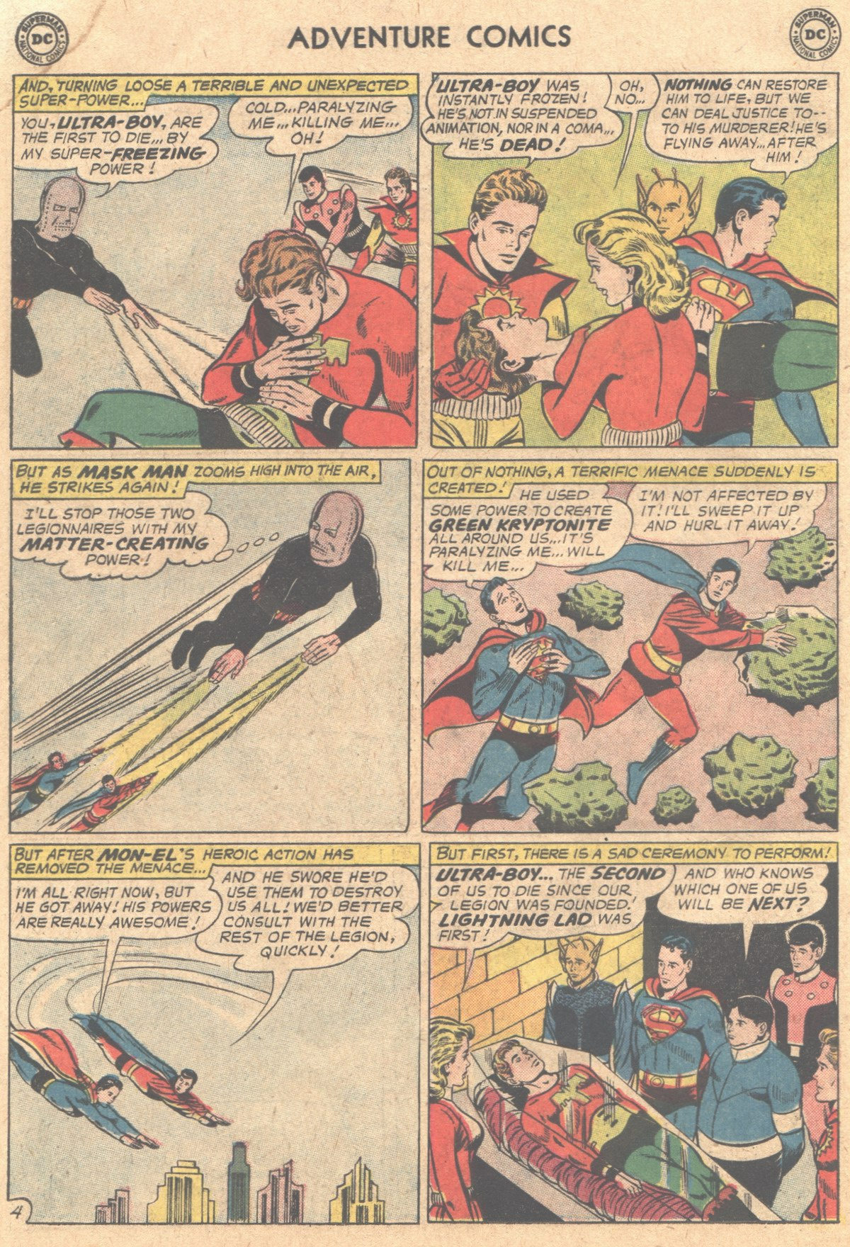 Read online Adventure Comics (1938) comic -  Issue #310 - 6