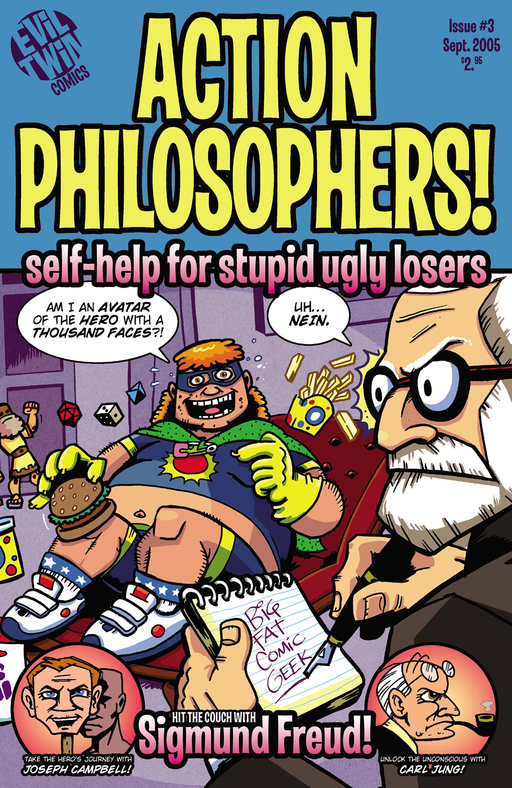 Read online Action Philosophers! comic -  Issue #Action Philosophers! TPB (Part 2) - 153