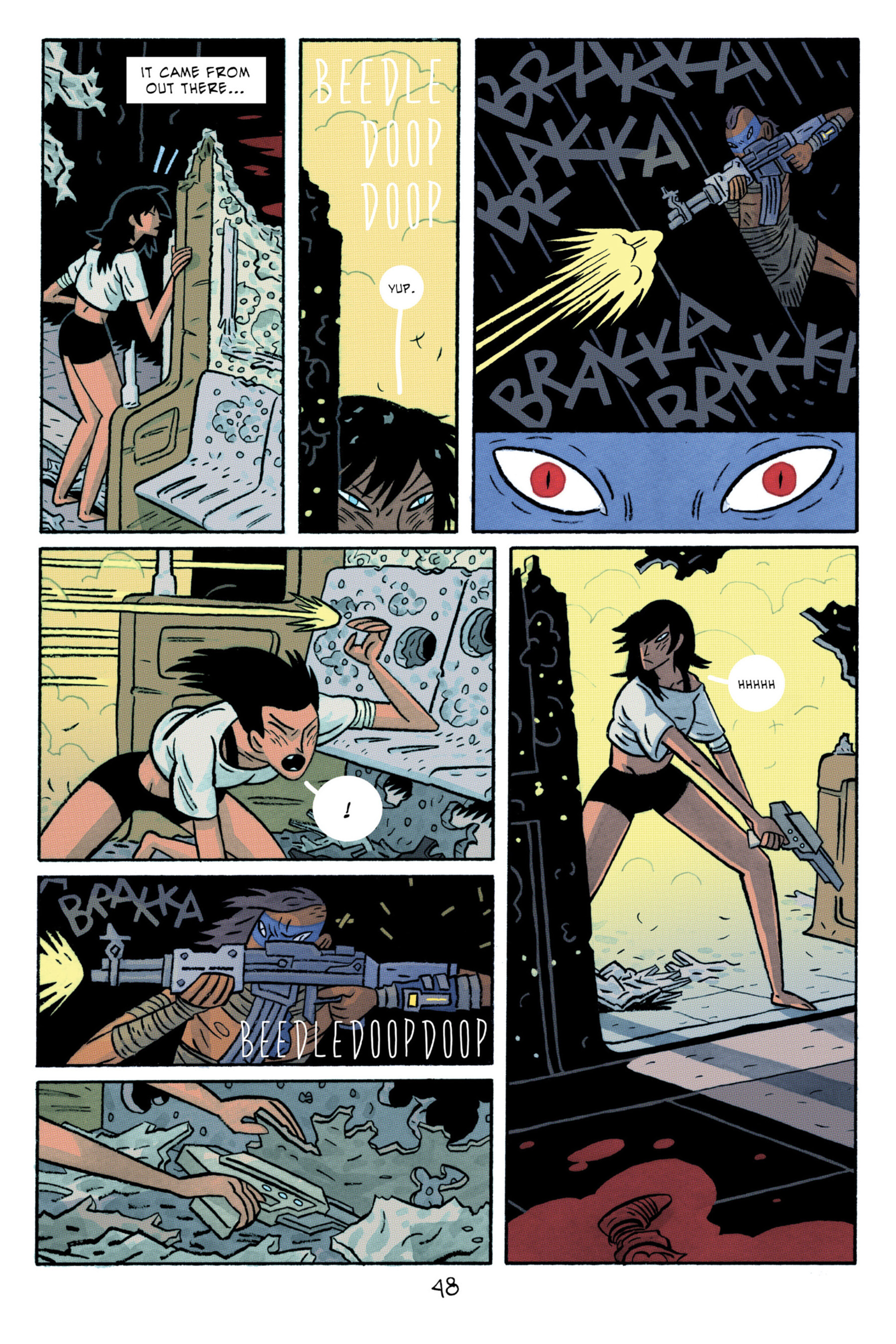 Read online ApocalyptiGirl: An Aria for the End Times comic -  Issue #ApocalyptiGirl: An Aria for the End Times Full - 56