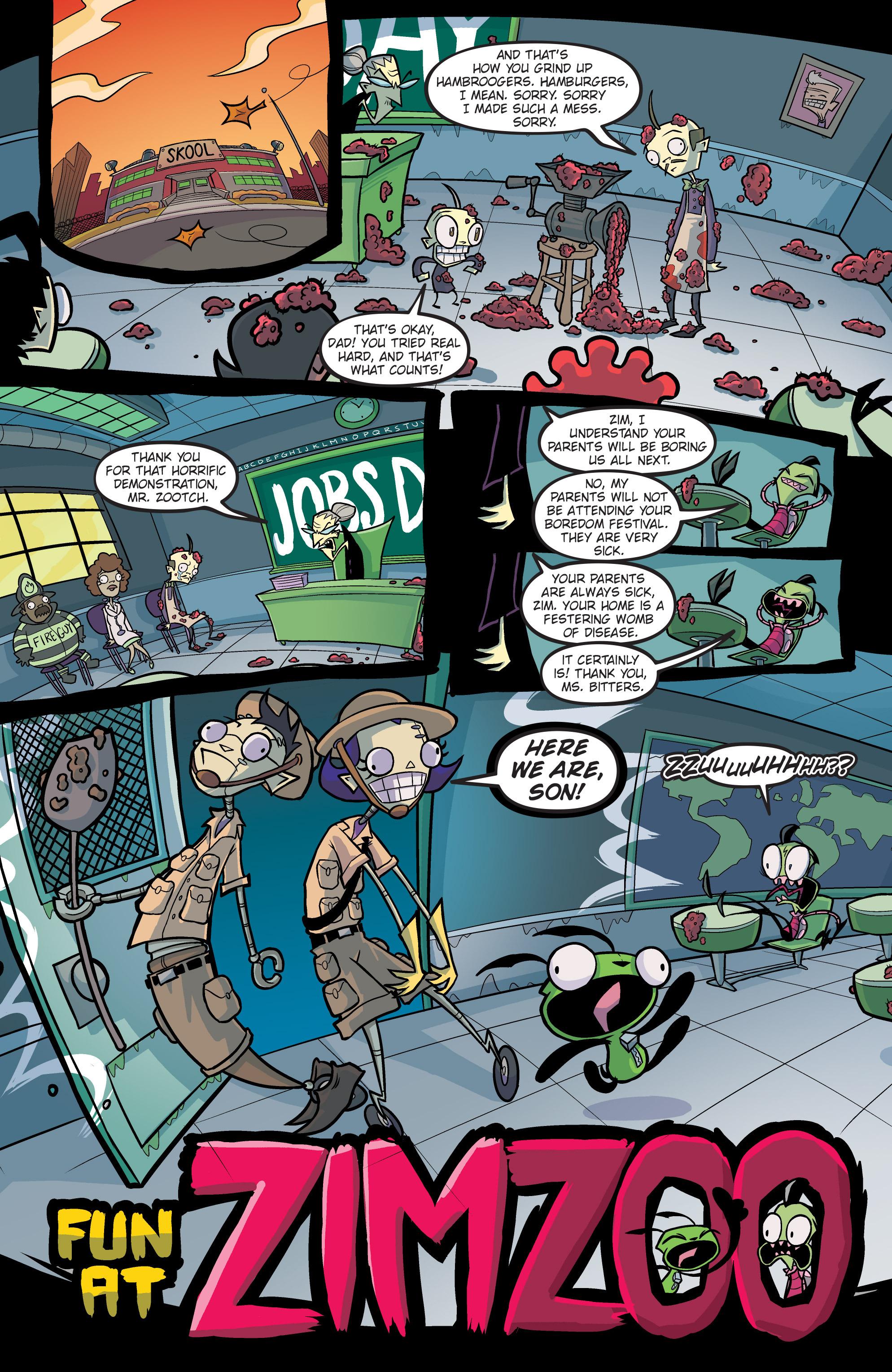 Read online Invader Zim comic -  Issue #19 - 3
