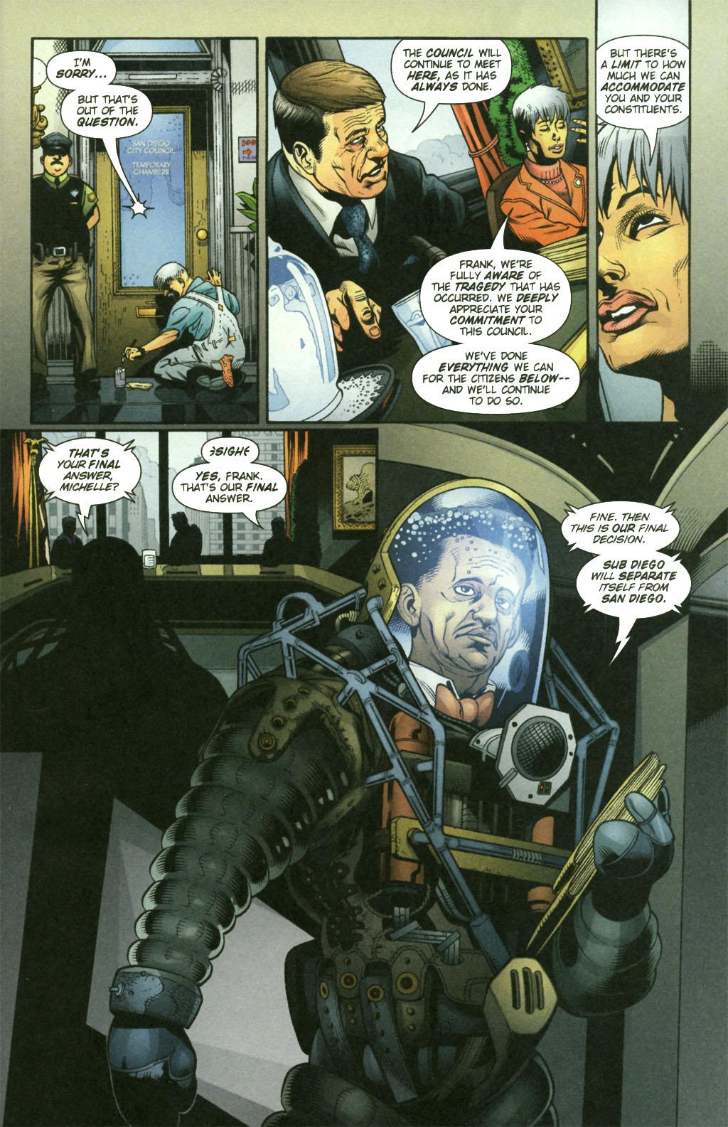 Read online Aquaman (2003) comic -  Issue #21 - 9