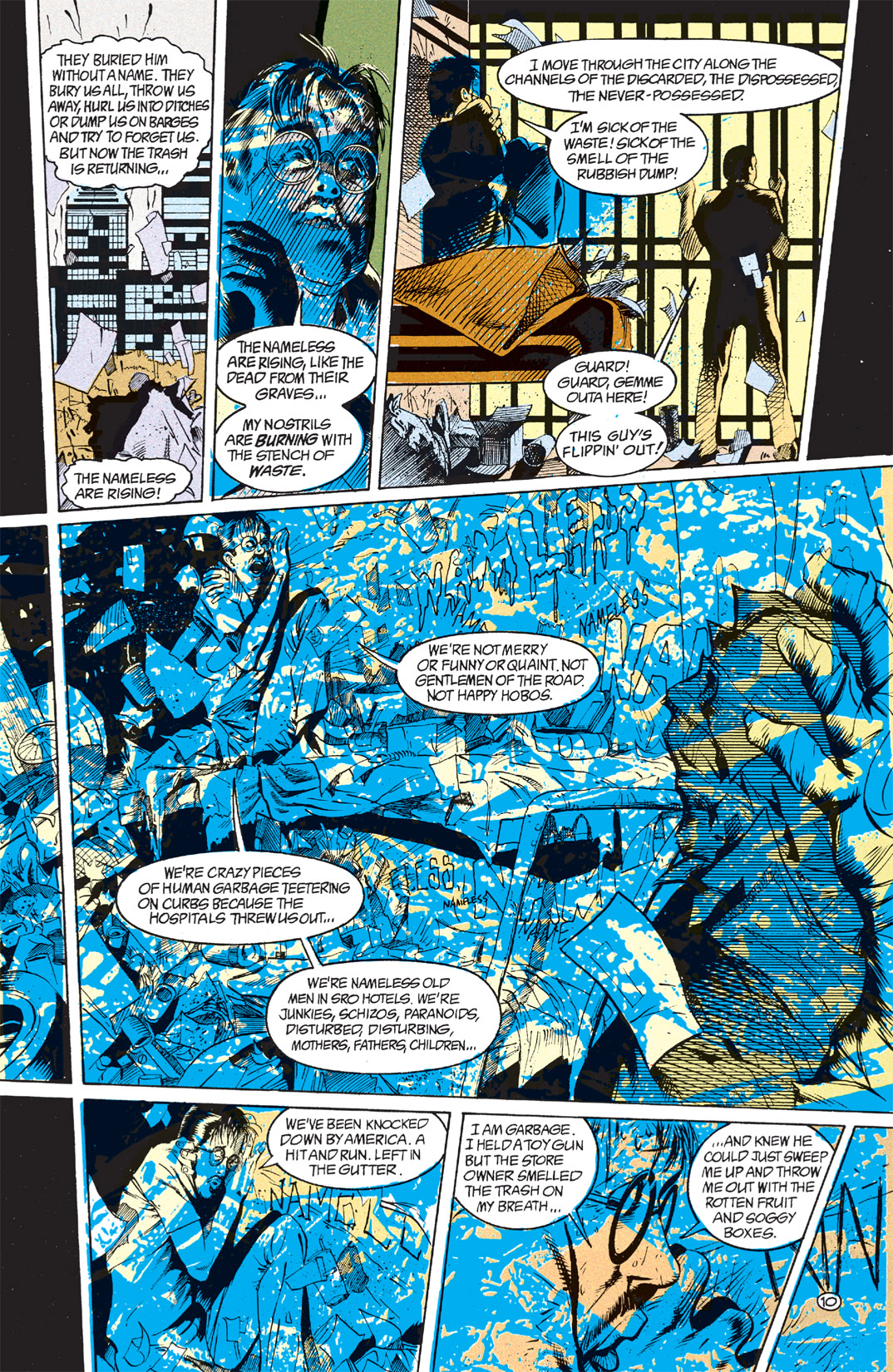 Read online Shade, the Changing Man comic -  Issue #7 - 11