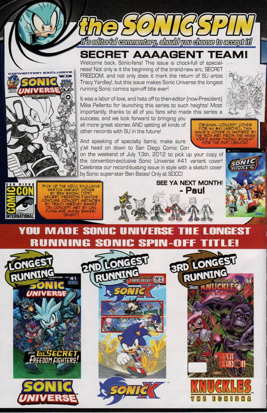 Read online Sonic Universe comic -  Issue #41 - 32