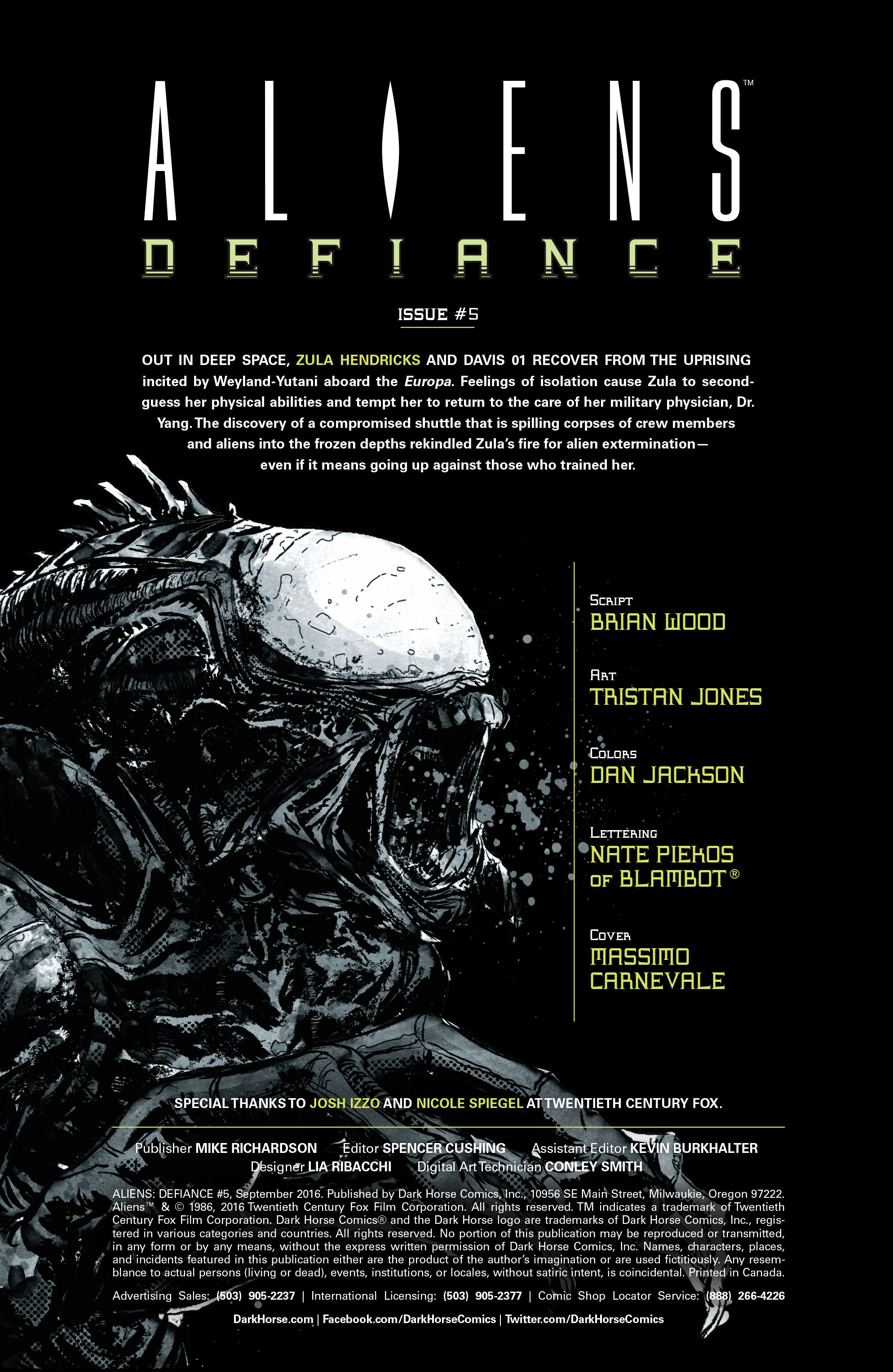 Read online Aliens: Defiance comic -  Issue #5 - 2