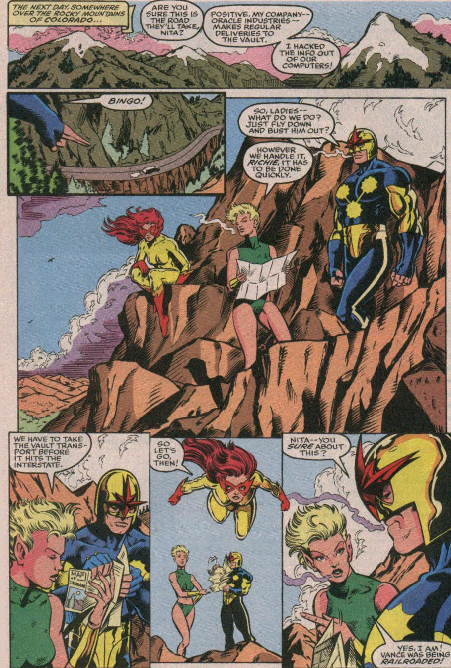 The New Warriors Issue #26 #30 - English 12